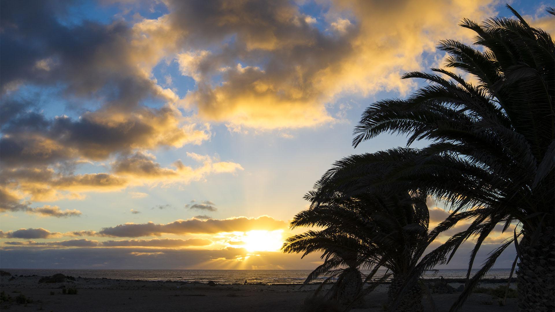 Klima, Sonne und Temperaturen auf Fuerteventura.