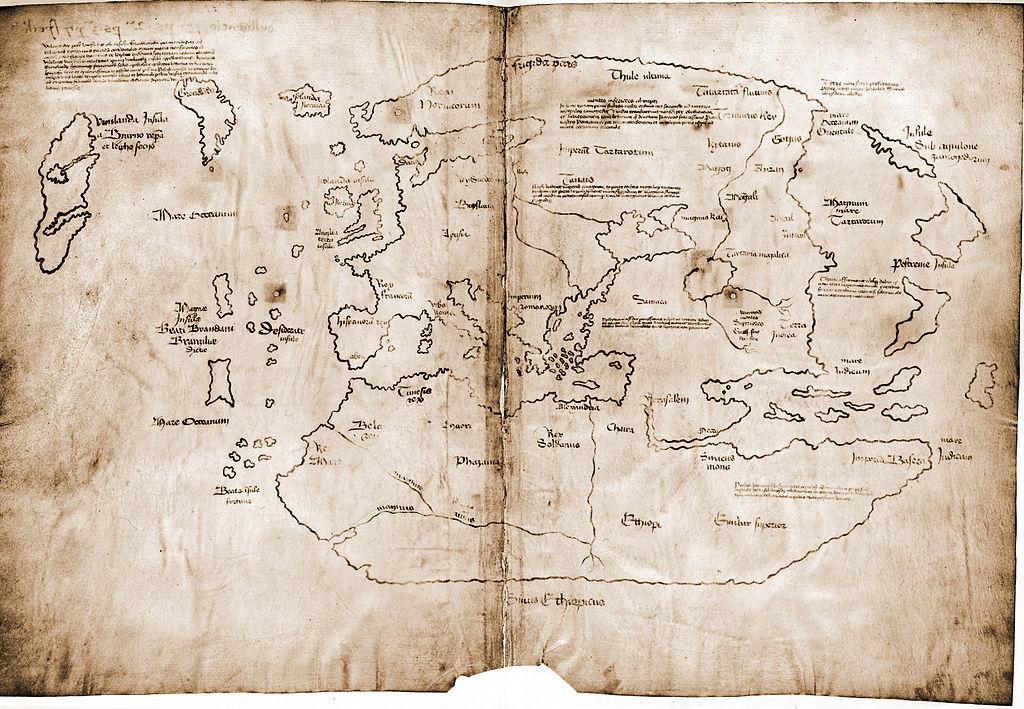 Die umstrittene Vinland-Karte – stammt sie aus dem Jahre 1434 und ist sie eine Wikinger Karte?