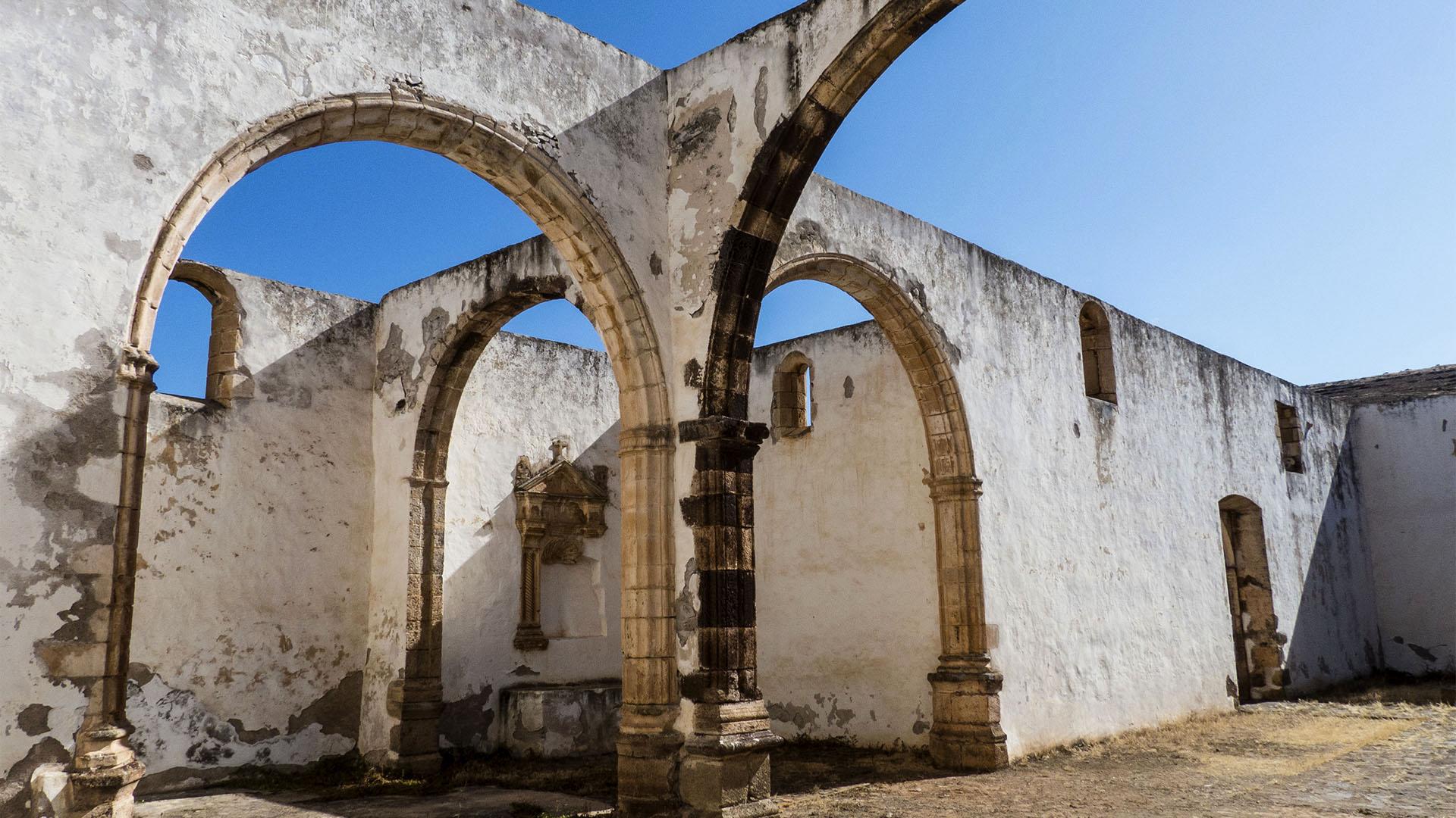 Das Franziskaner Kloster Buena Fuerteventura in Betancuria –das erste Kloster des Archipels.