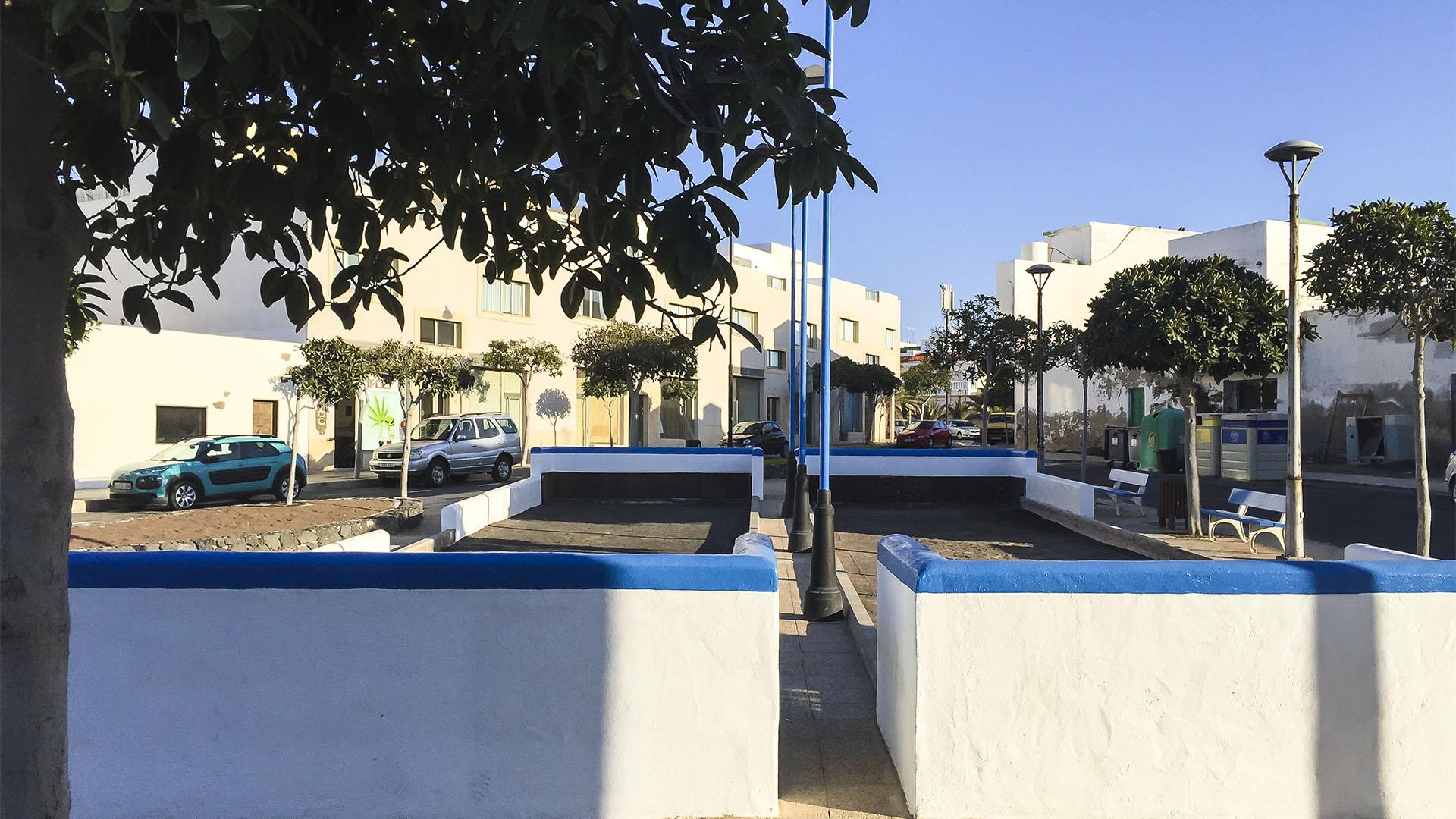 Bola canaria in El Cotillo Fuerteventura.