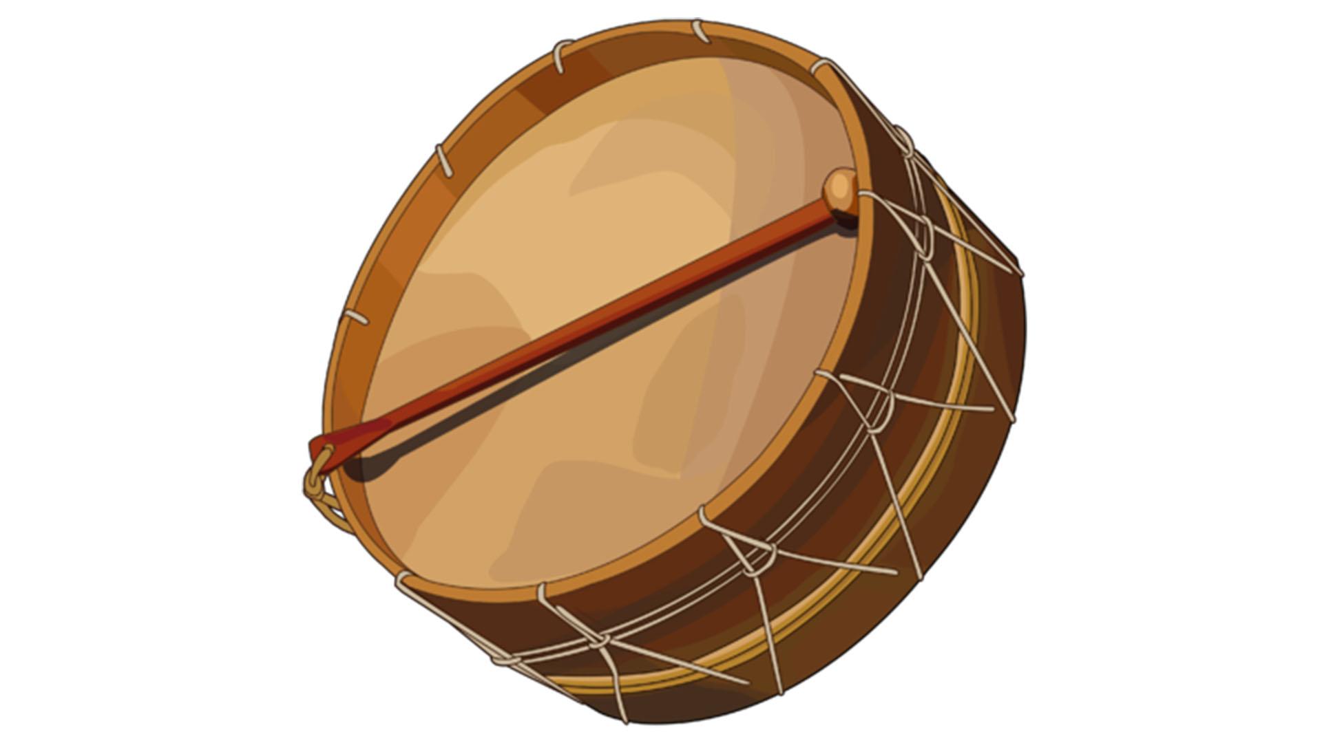 Tambor de la Gomera – die Trommel der Ureinwohner von La Gomera, der Gomeros.
