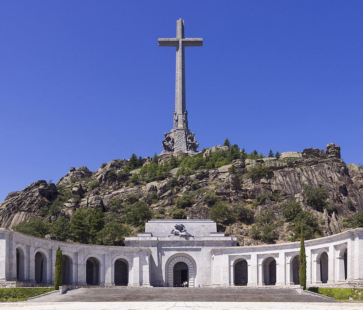 Das Grab des General Fanco nahe Madrid – Tal der Gefallenen, Valle de los Caídos.