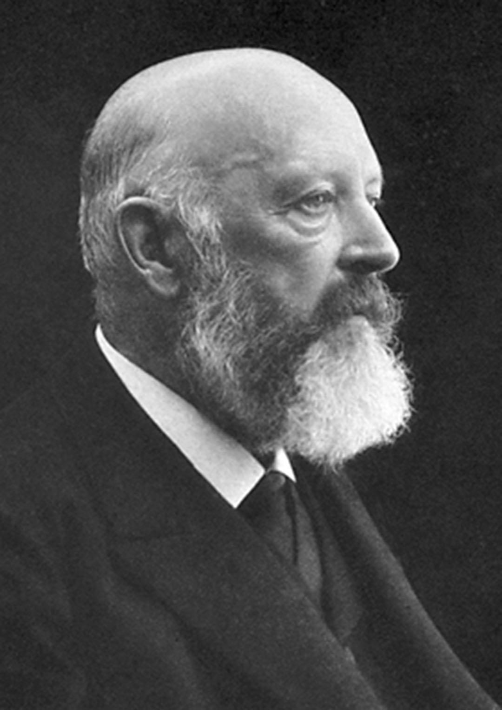 Adolf von Baeyer 1905 –offizielles Bild des Nobelpreiskomitees.
