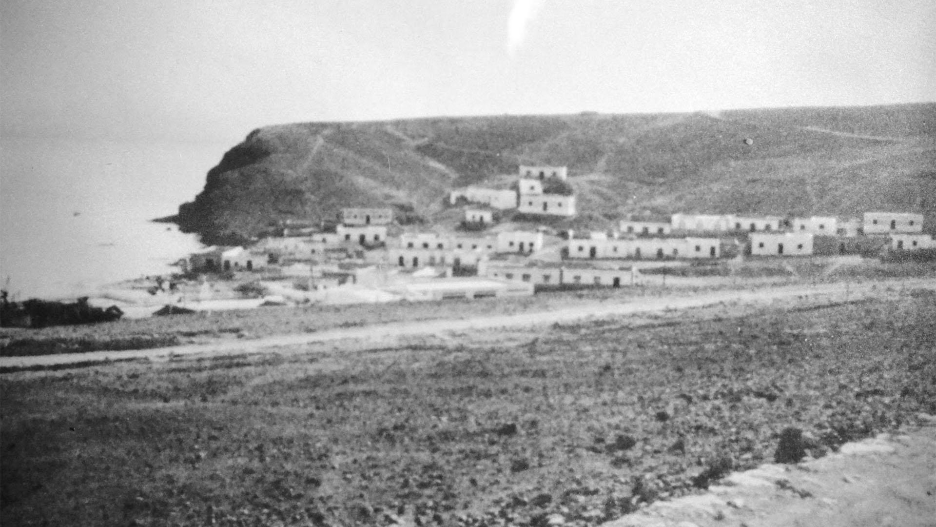 Der Ort Morro Jable Fuerteventura: Morro Jable ca. in den 1950igern.