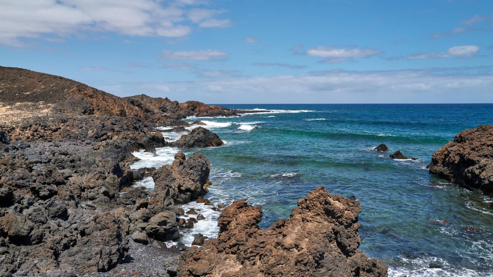 Caleta del Vino Isla de Lobos Fuerteventura.