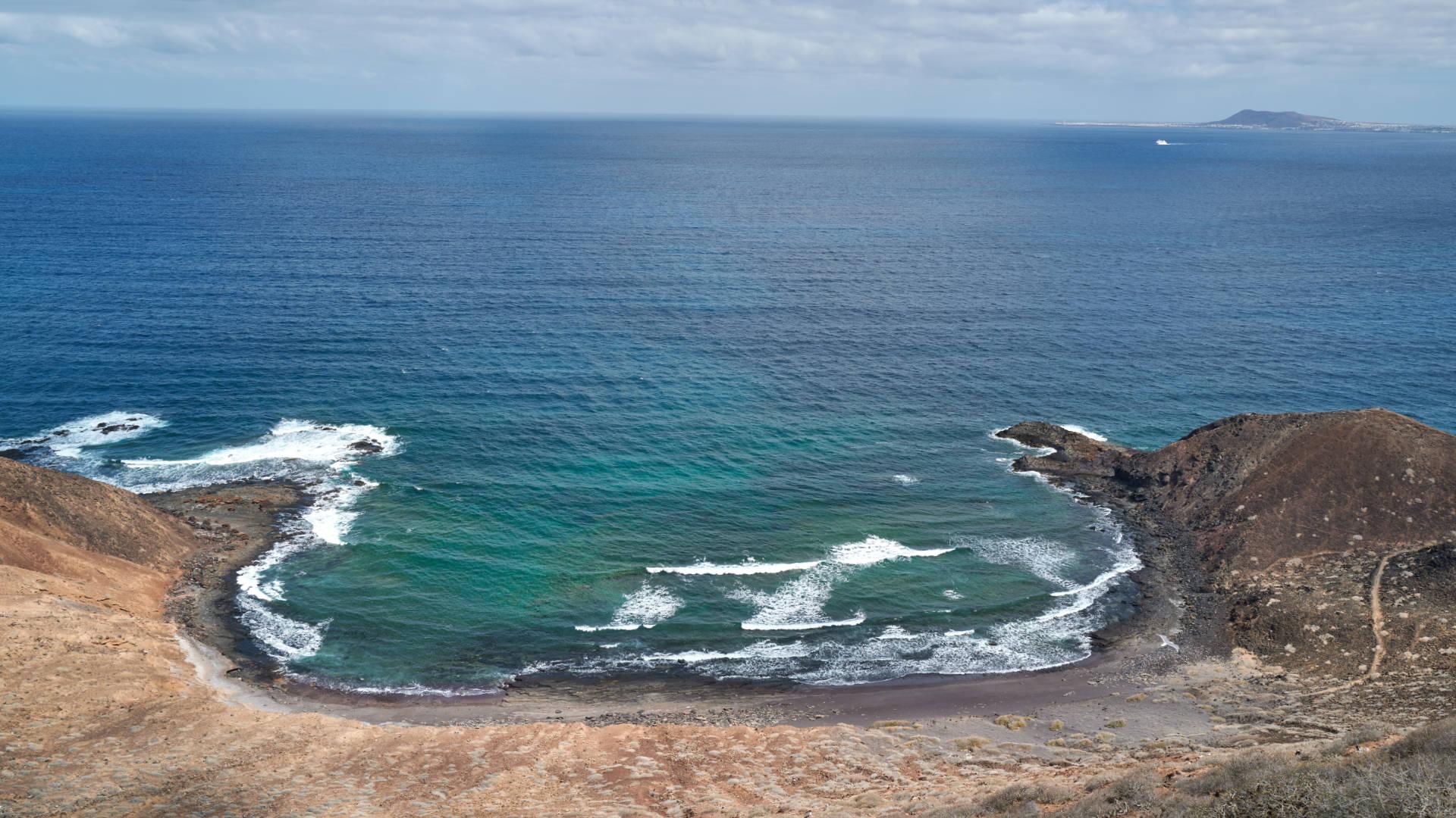 Caleta del Palo Isla de Lobos Fuerteventura.