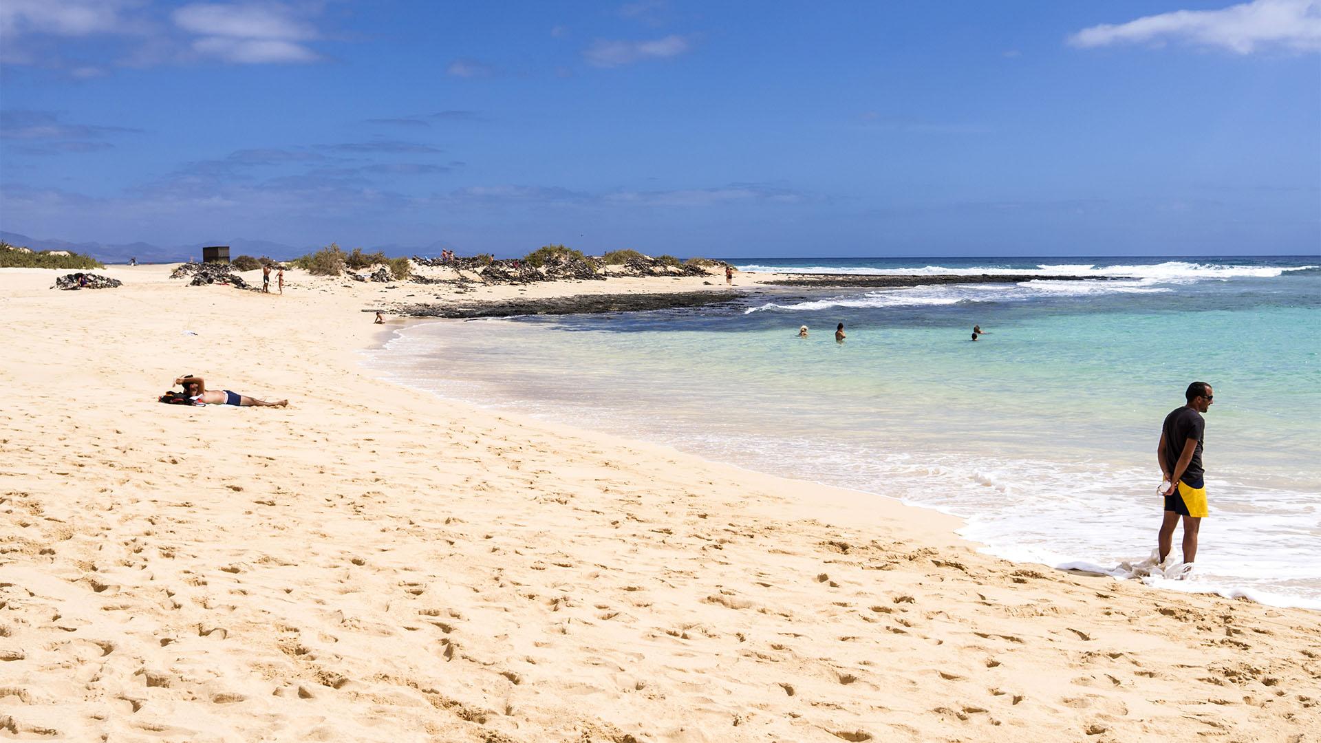 Die Strände Fuerteventuras: Playa del Dormidero