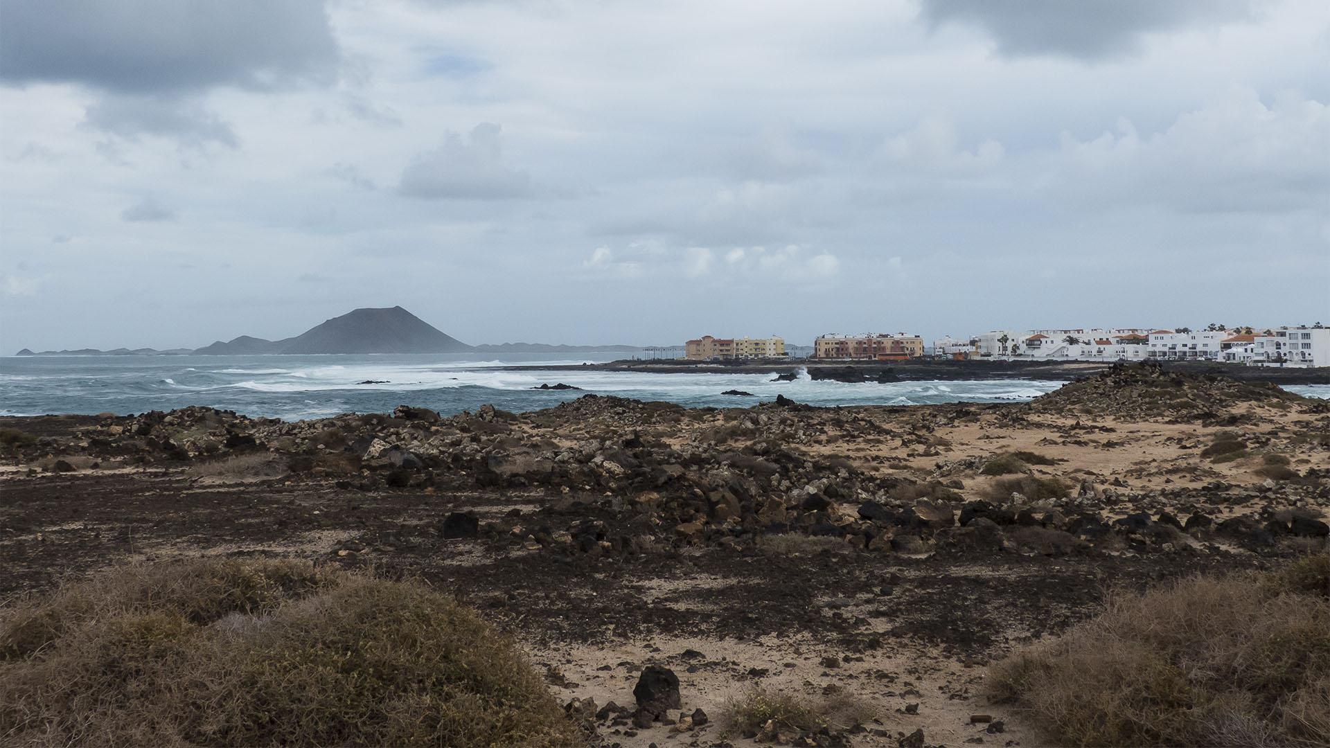 Strände Fuerteventura –El Charco de Bristol Corralejo.