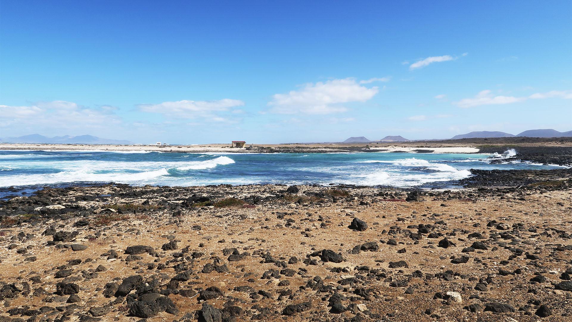 Die Strände im Norden von Fuerteventura –North Shore Playa Blanca.