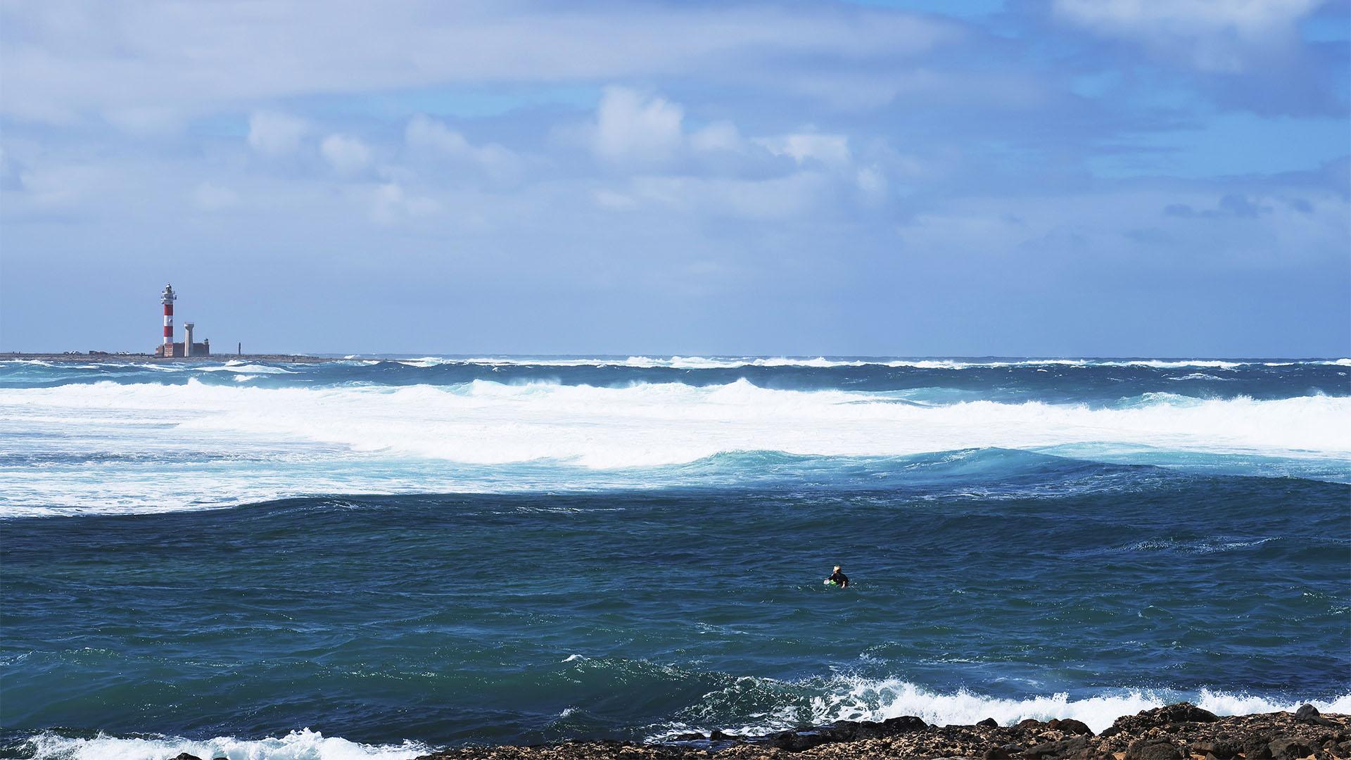 Die Strände im Norden von Fuerteventura – Caleta de Punta Aguda.