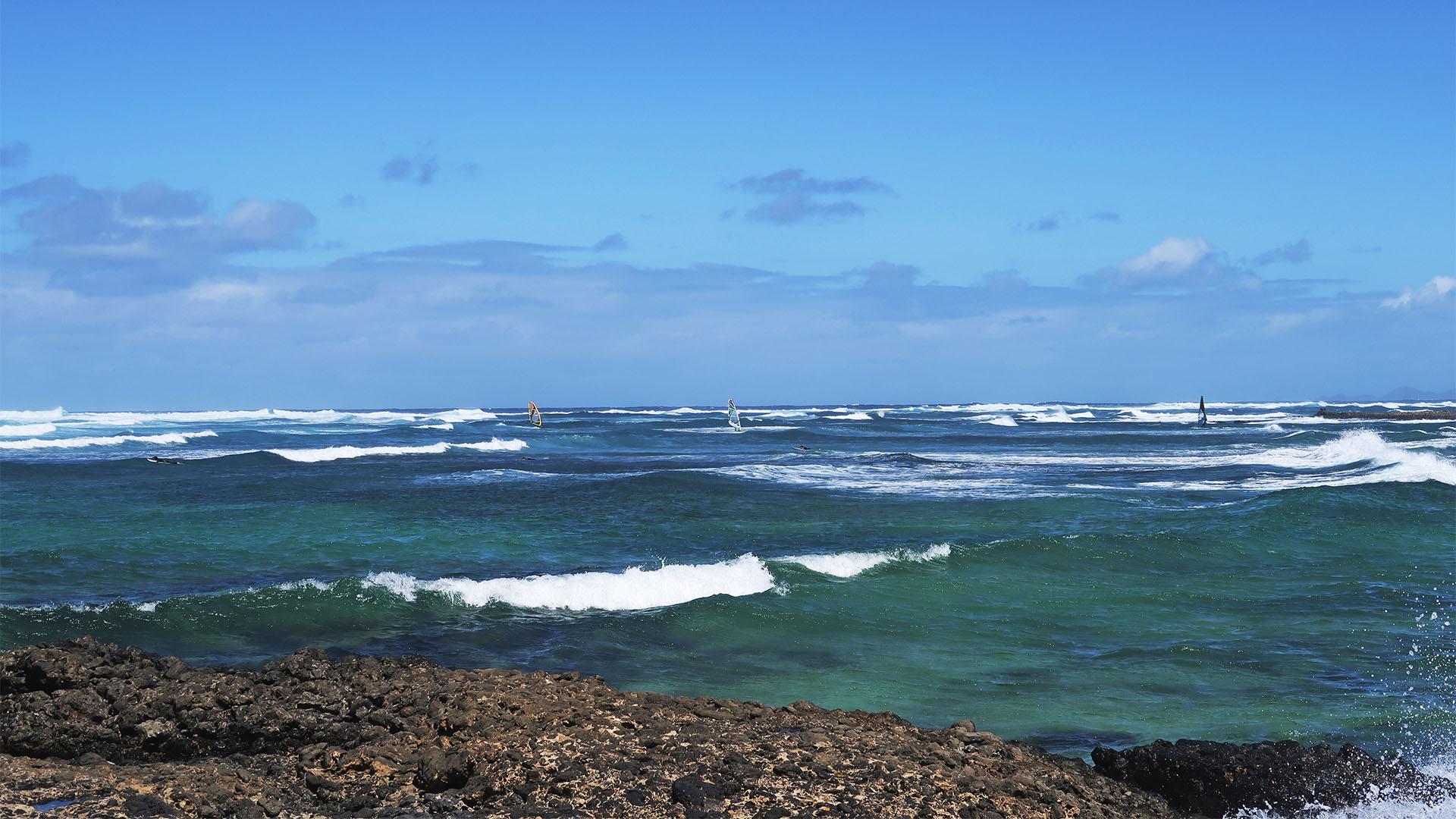 Die Strände im Norden von Fuerteventura – Northshore Caleta de María Diaz.