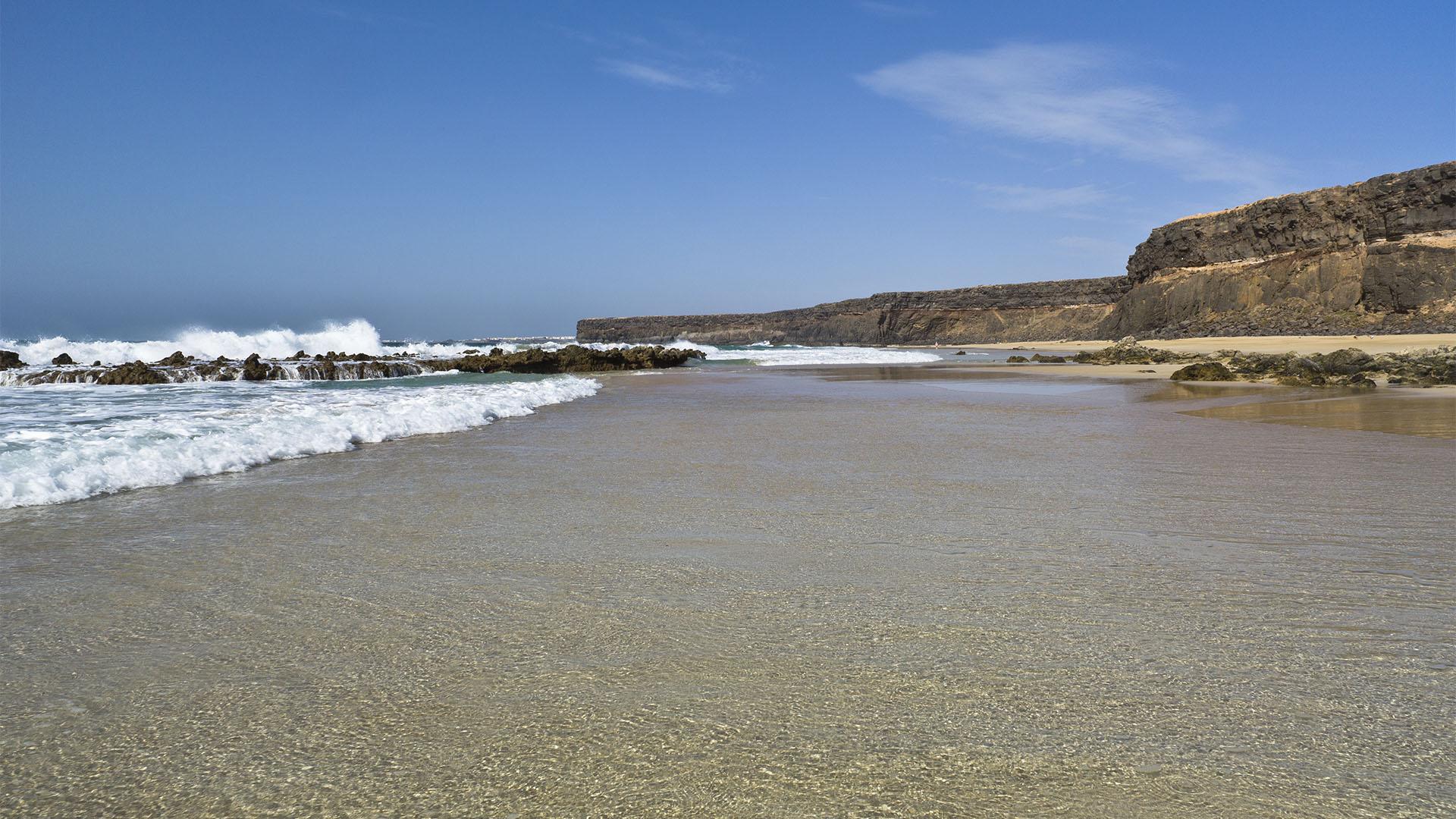 Die Strände Fuerteventuras: Playa de la Águila aka Playa Escalera.