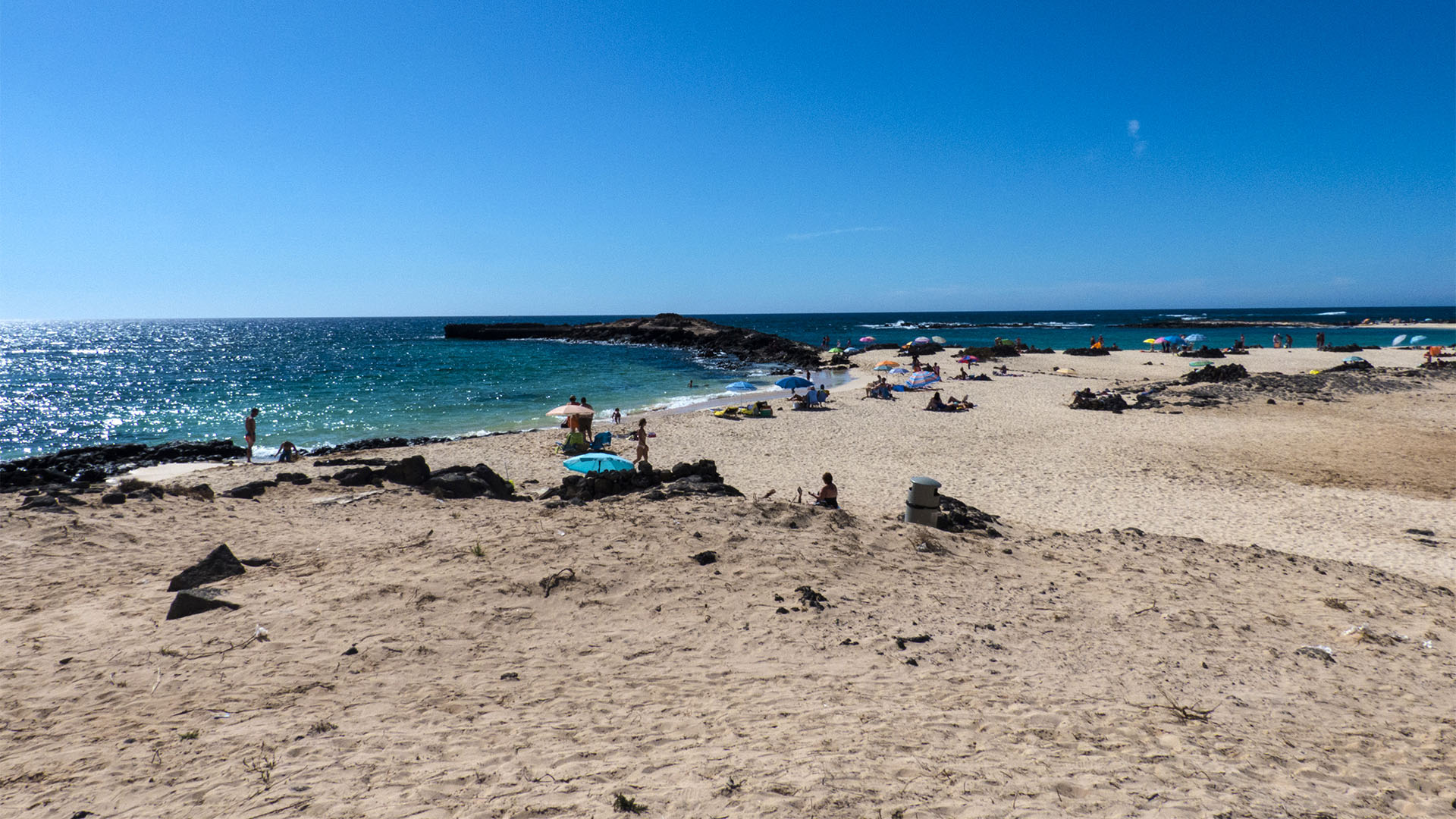 Die Strände Fuerteventuras: Punta de la Barra (La Concha)