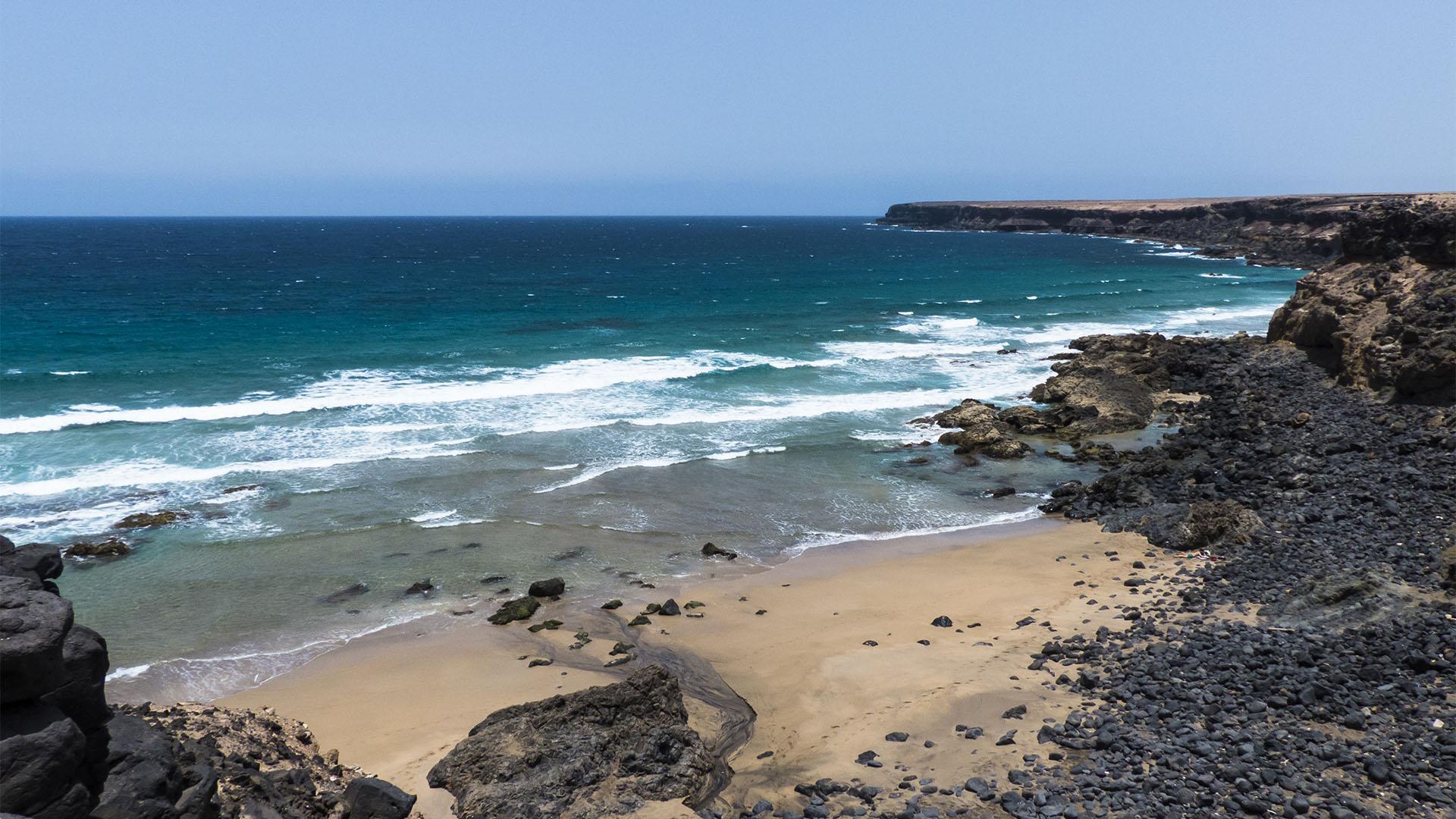 Die Strände Fuerteventuras: Playa de Tebeto