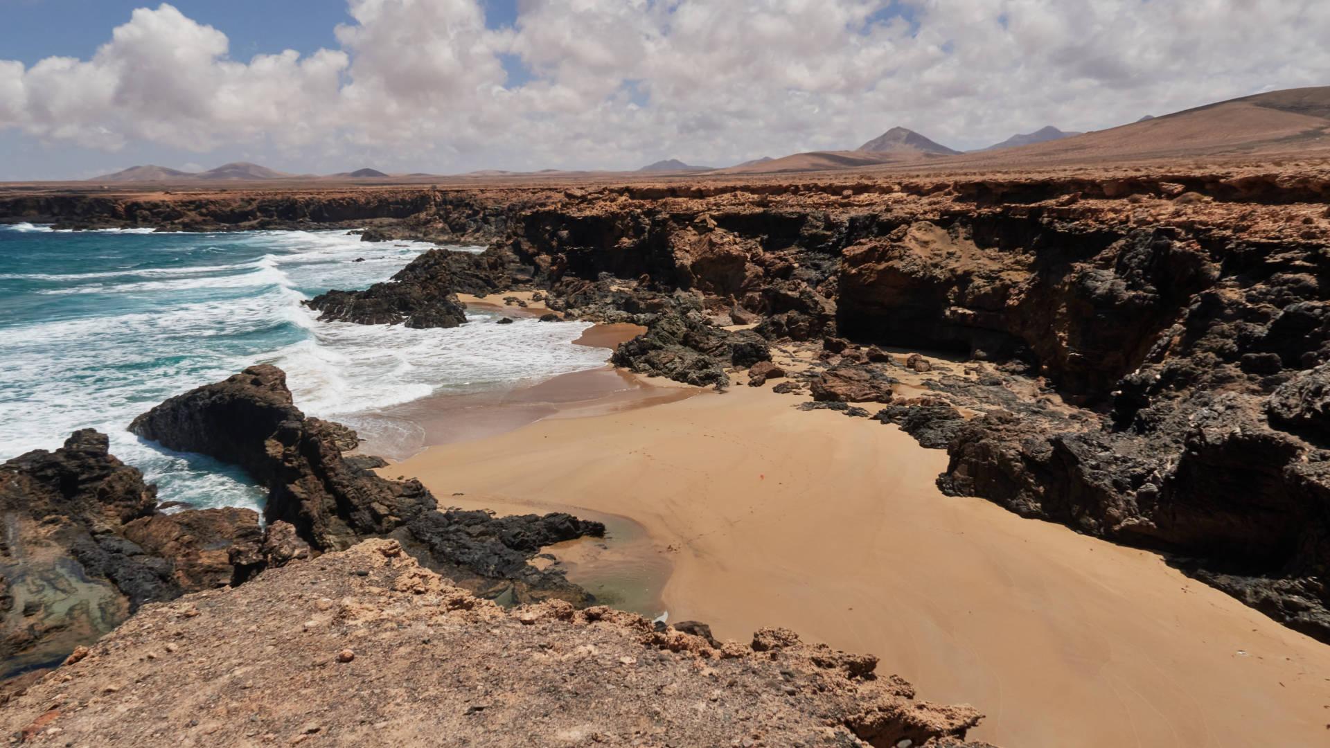 Los Garañones (Punta del Viento) nahe Tindaya Fuerteventura.