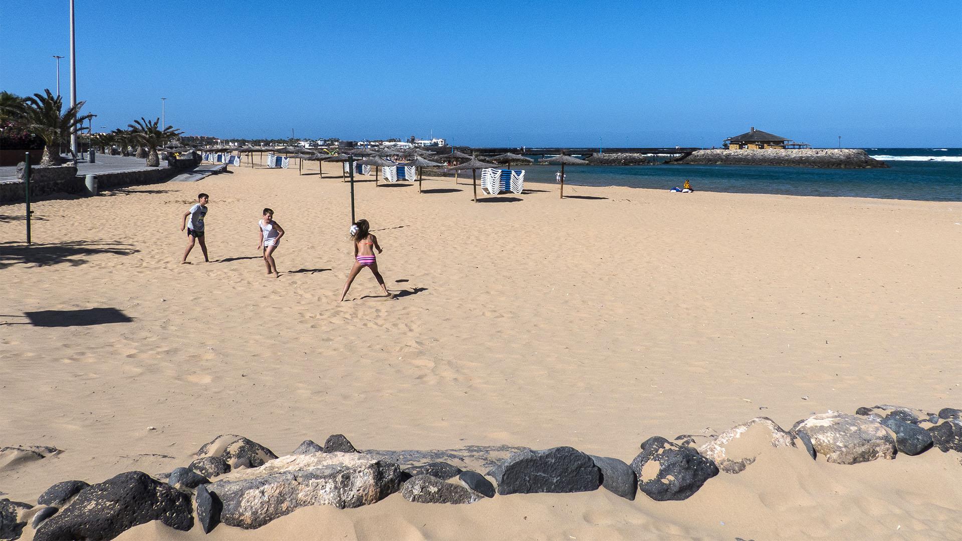 Die Strände Fuerteventuras: Las Marismas –Playa de la Guirra