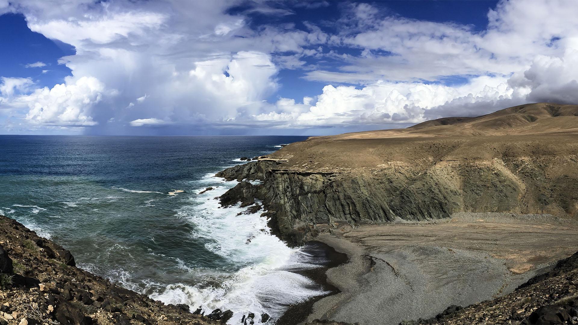 Die Strände Fuerteventuras: Playa de los Mozos Valle de Santa Inés