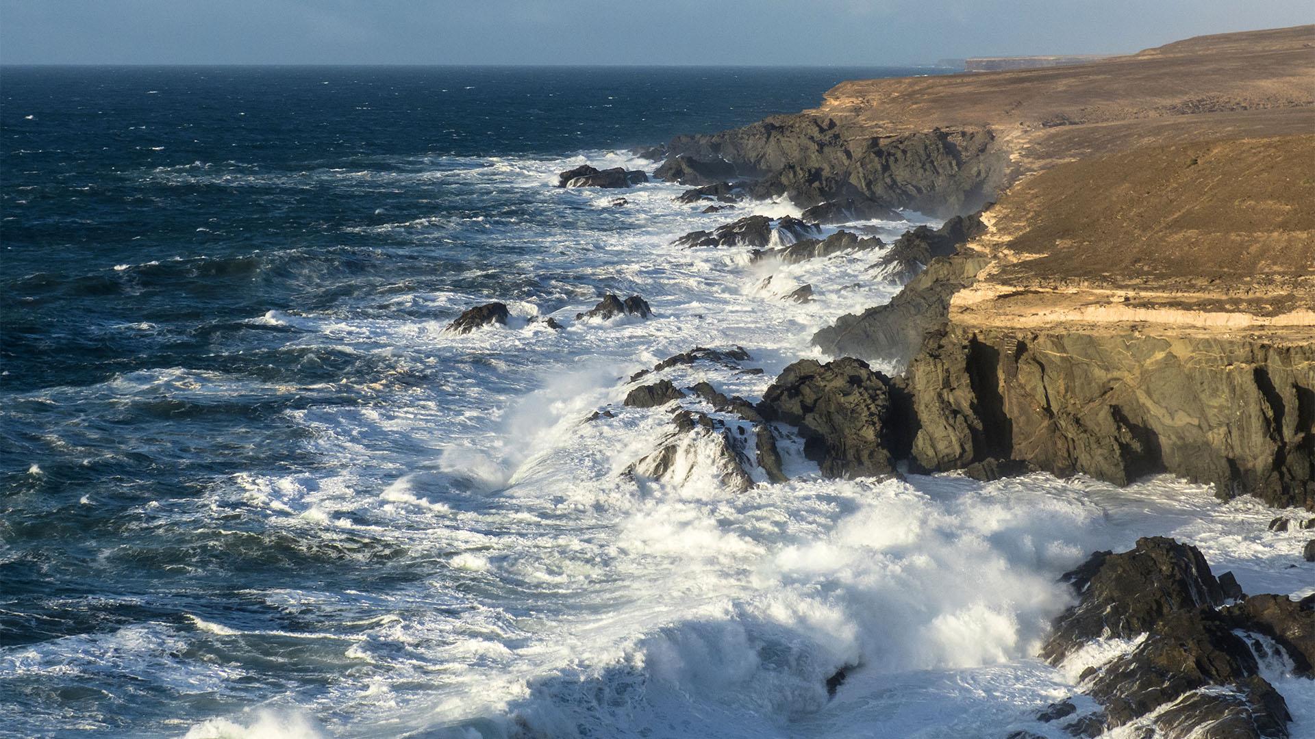 Die Strände Fuerteventuras: Playa y Barranco de los Mozos Tablero del Golfete
