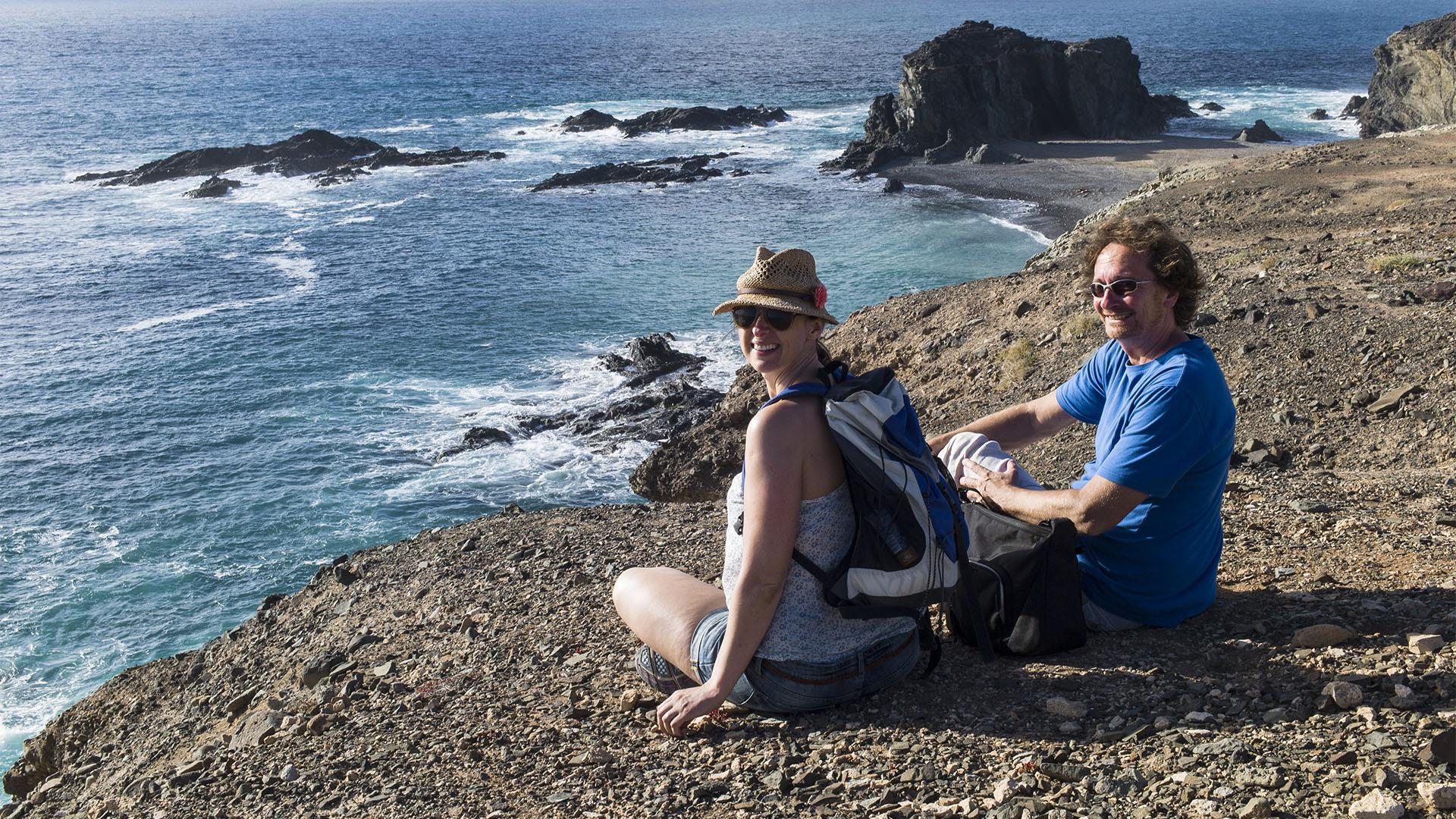 Die Strände Fuerteventuras: Arco del Jurado –Peña Hordada