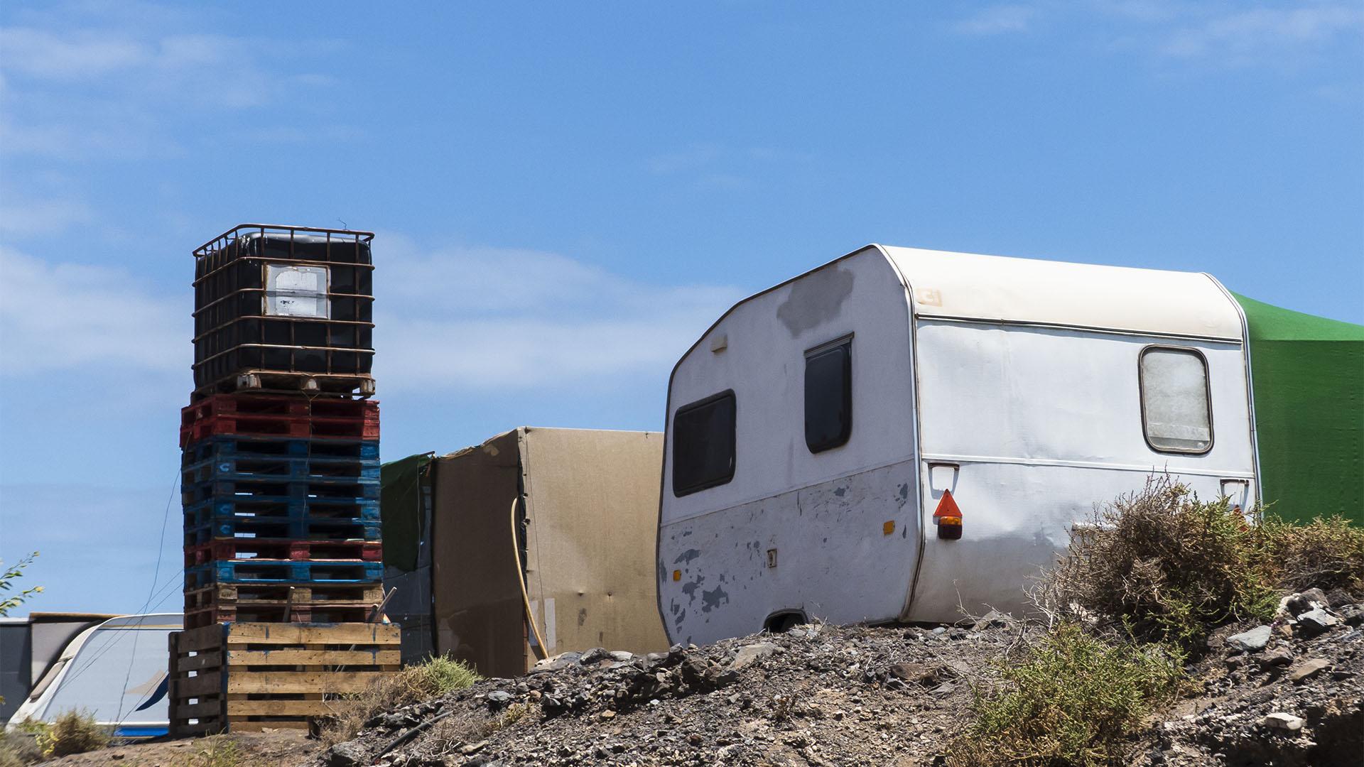 Die Strände Fuerteventuras: Ensenada de Gran Valle.
