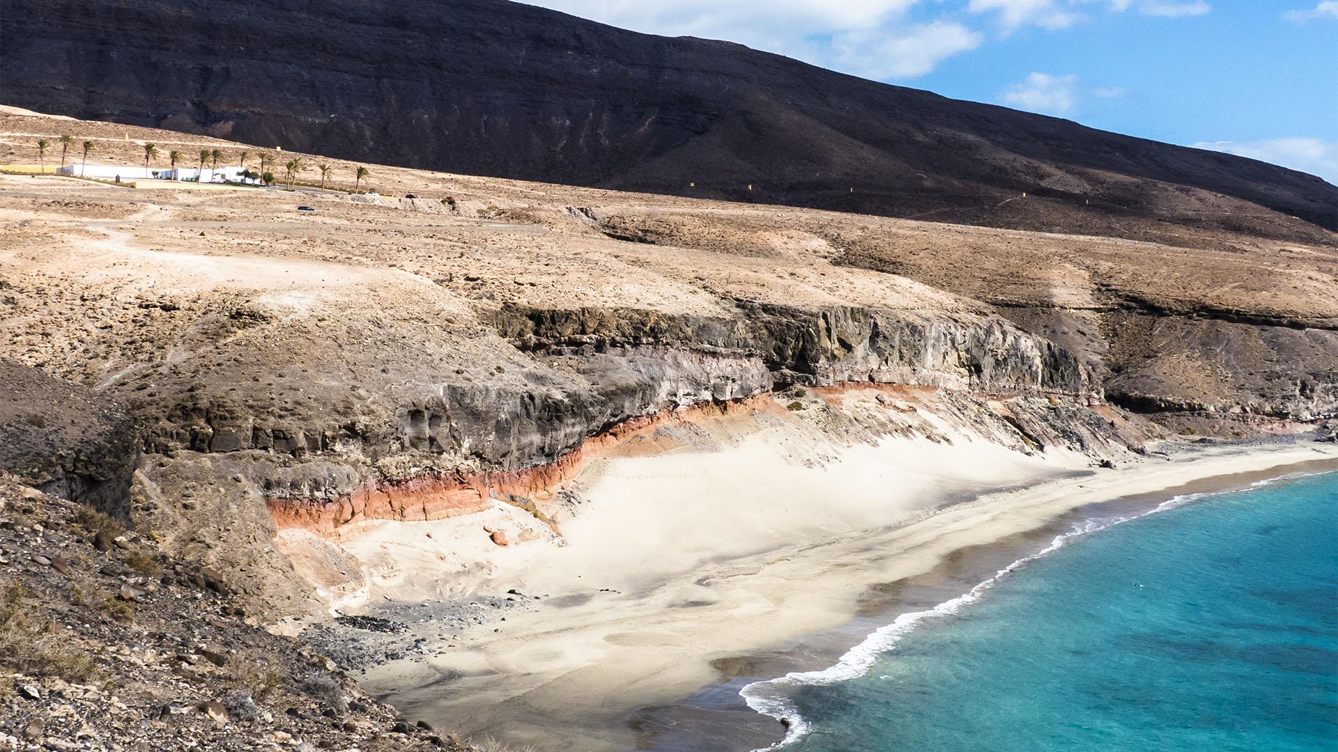 Die Strände Fuerteventuras: Playa de las Coloradas.