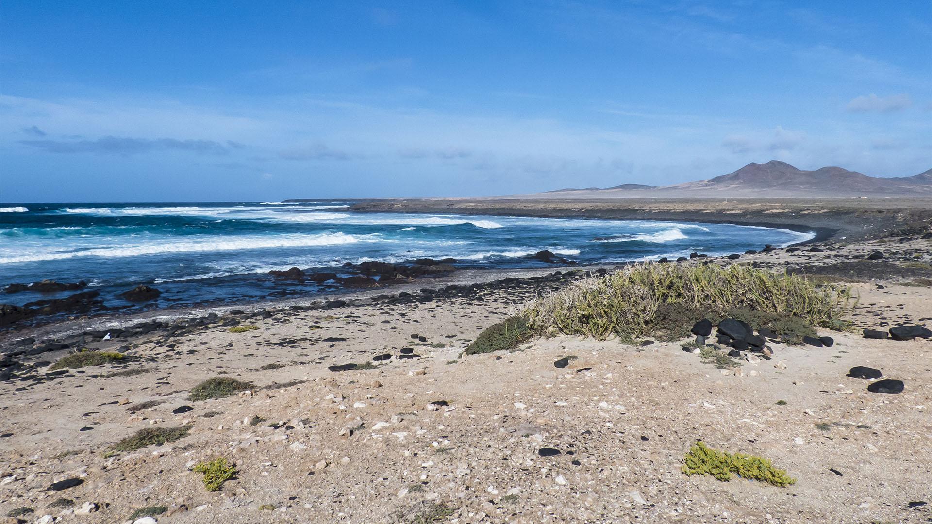 Die Strände Fuerteventuras: Playa de la Turbia.
