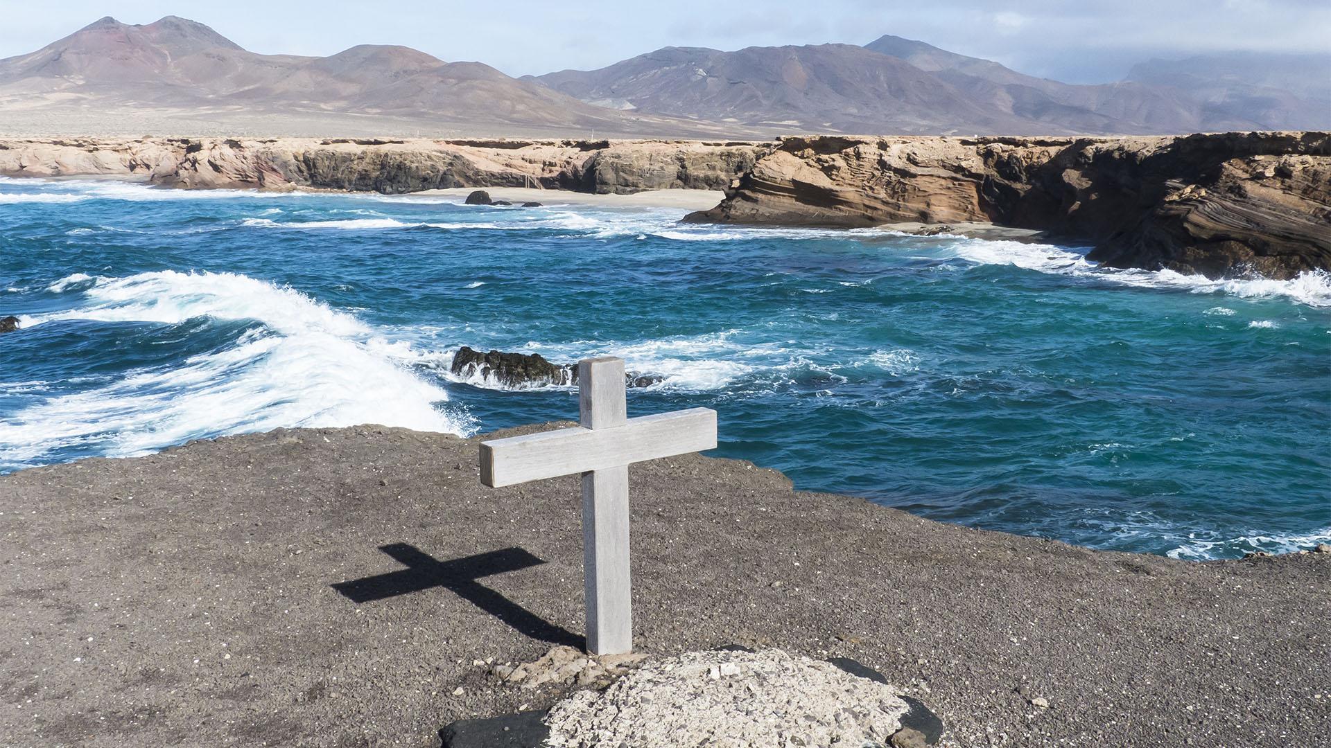 Die Strände Fuerteventuras: Playa de los Ojos.