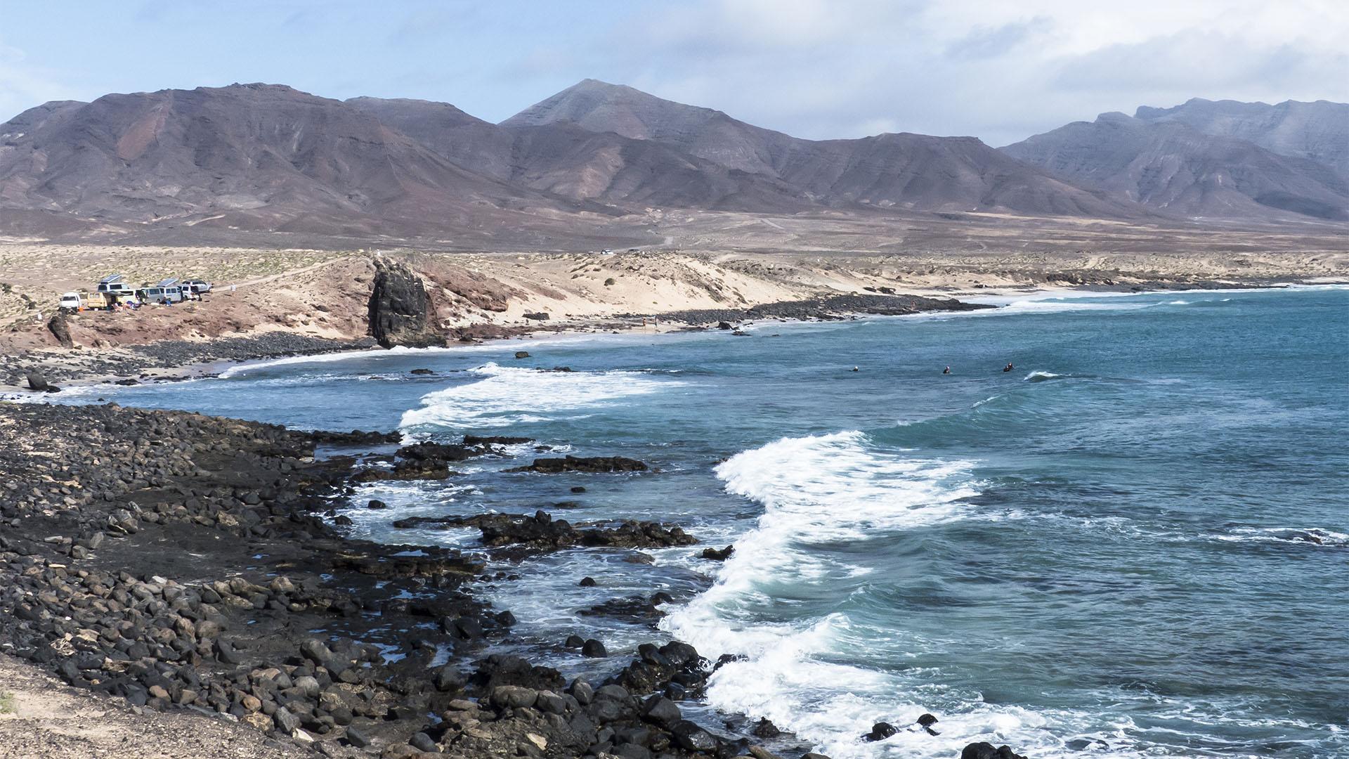 Die Strände Fuerteventuras: Punta Salinas.