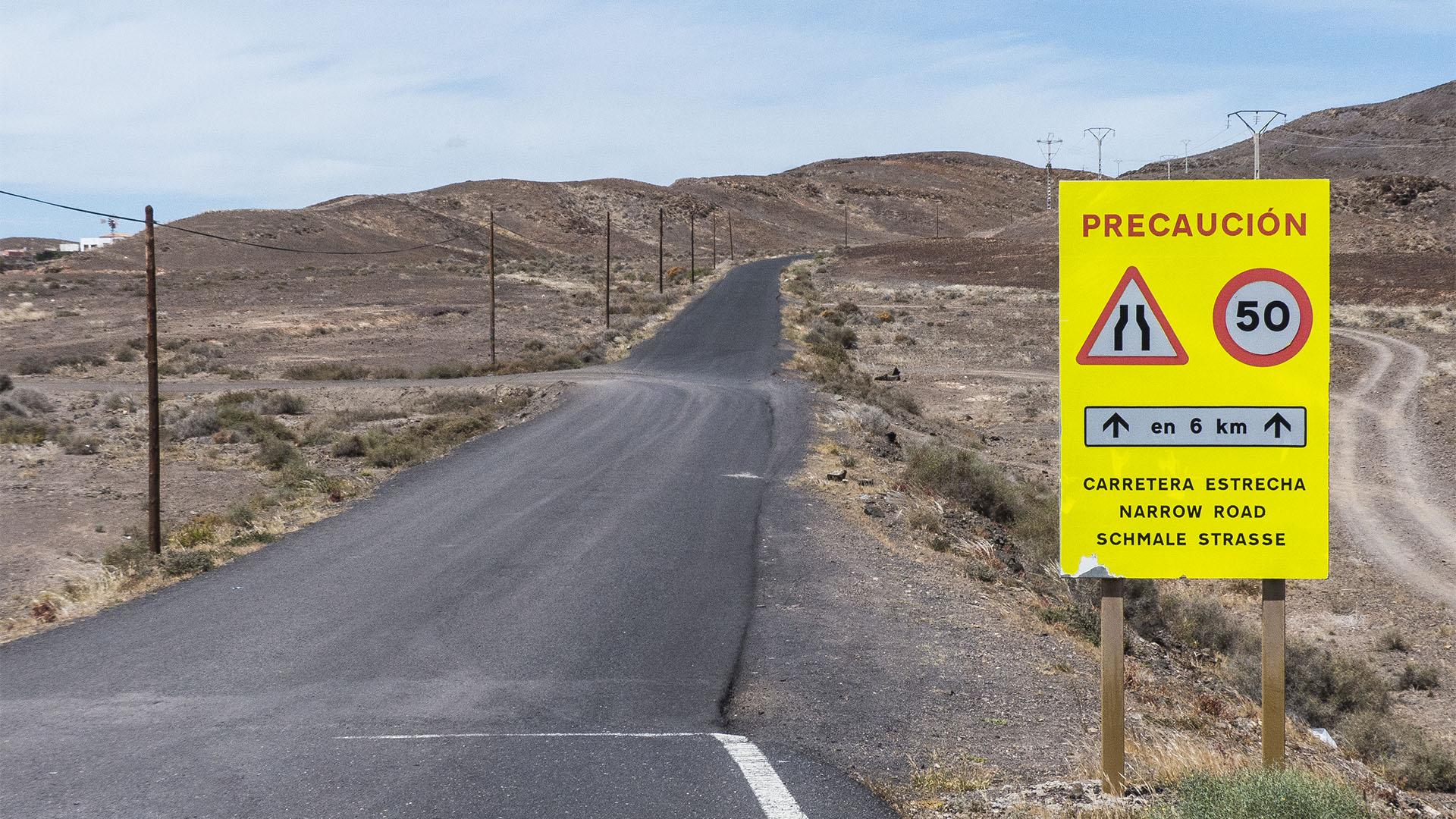 Die Strände Fuerteventuras: Punta de Entallada - Penón del Roque.