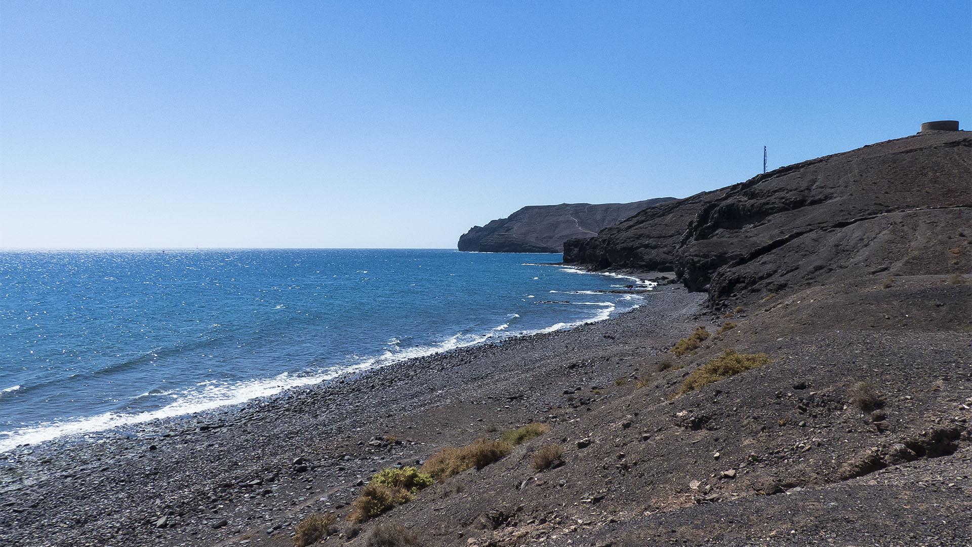 Die Strände Fuerteventuras: Playa de Pajarito.