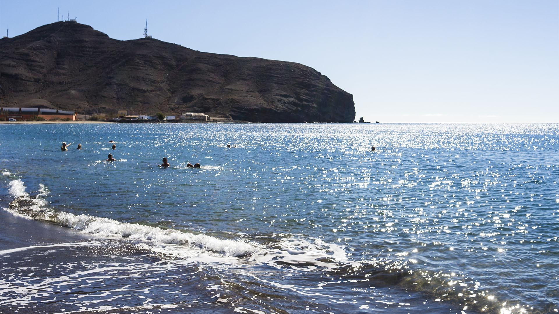 Die Strände Fuerteventuras: Playa de Gran Tarajal.