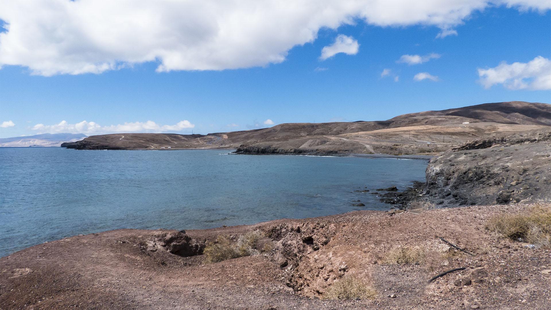 Die Strände Fuerteventuras: Playa laja del Corral - Punta de la Cruzuela.