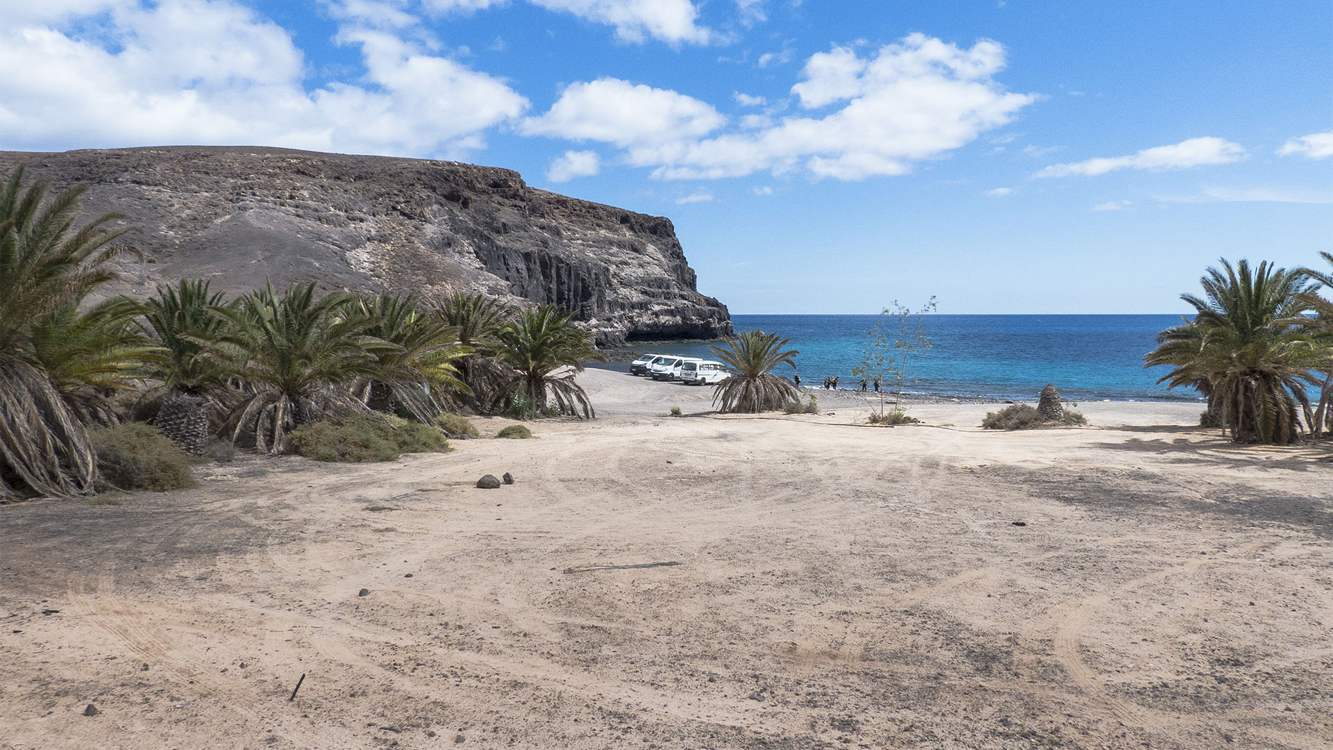 Die Strände Fuerteventuras: La Lajita, Puerto Rico.