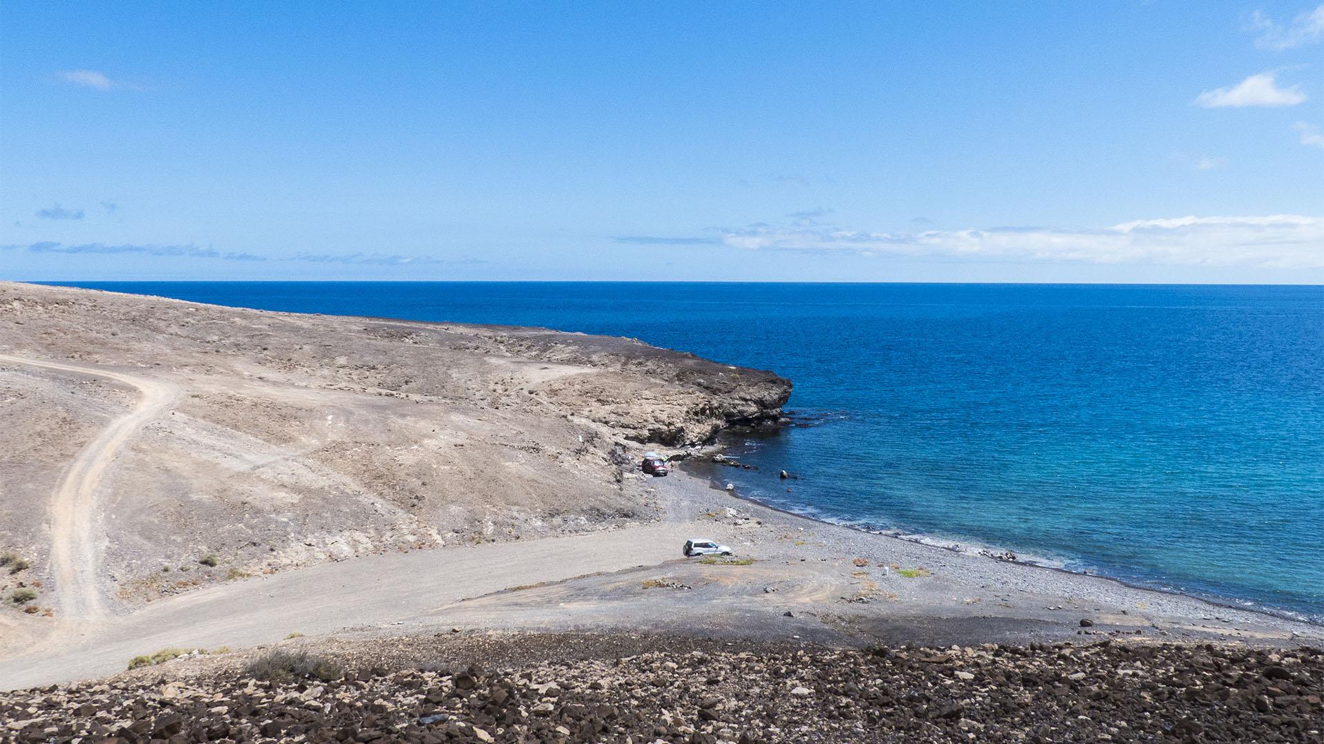 Die Strände Fuerteventuras: La Lajita, Playa da Puerto Rico.