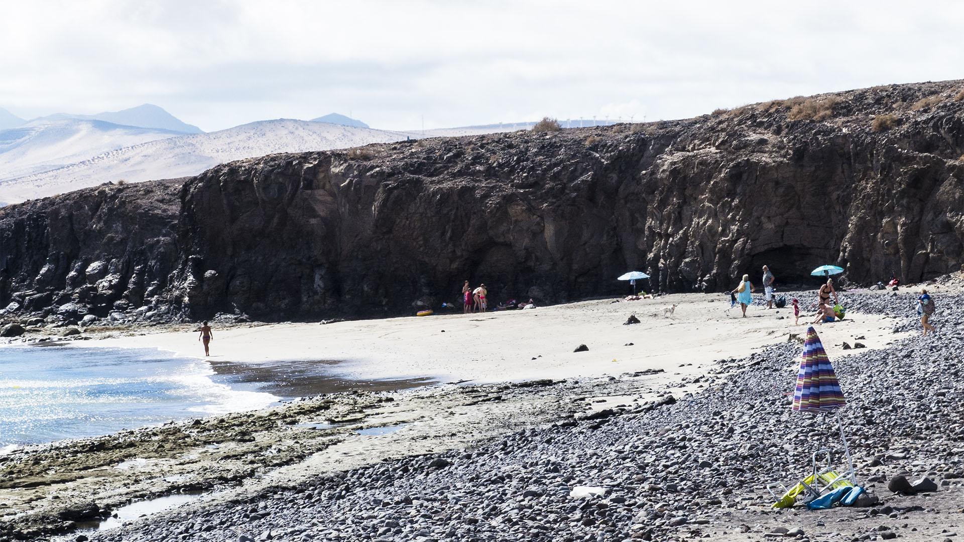 Die Strände Fuerteventuras: La Lajita, Playa de la Jaqueta.