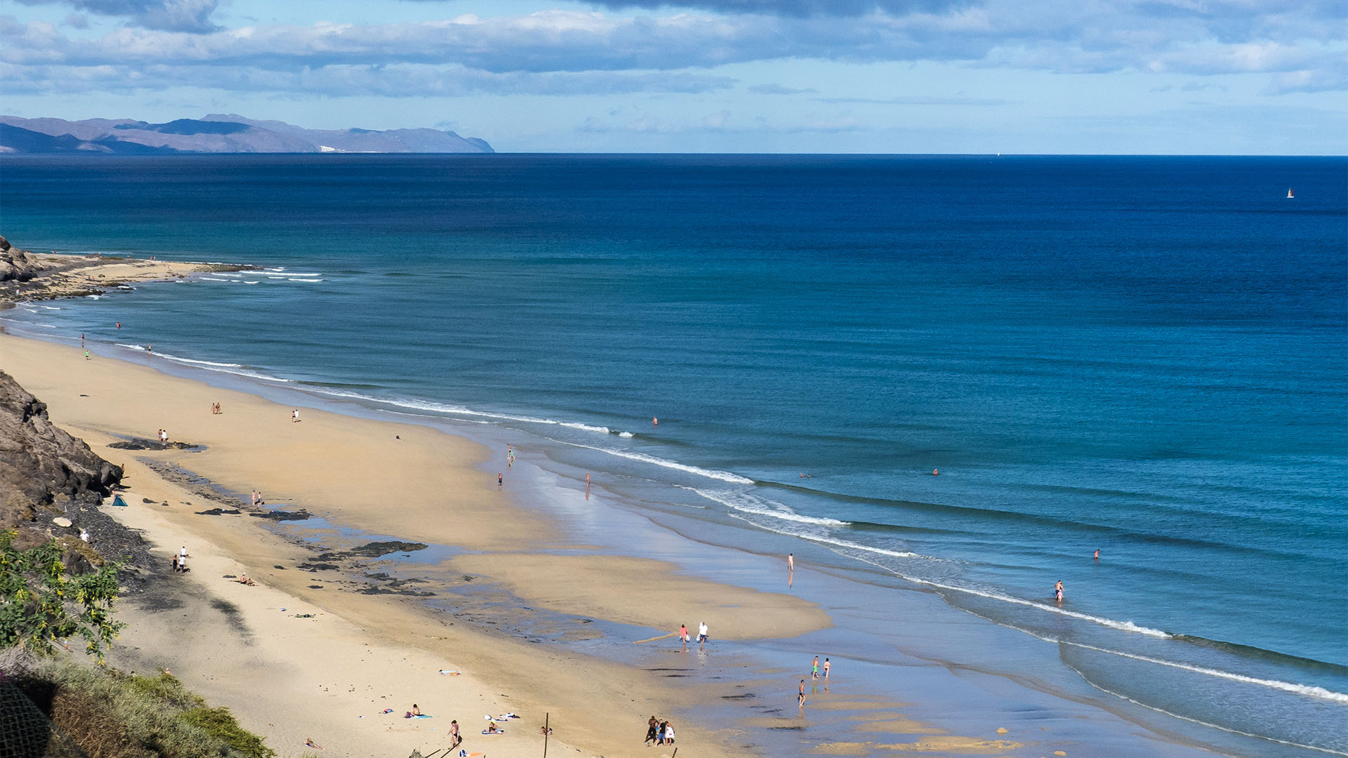 Die Strände Fuerteventuras: Halbinsel Jandía, Playa Boca de Esquinzo.