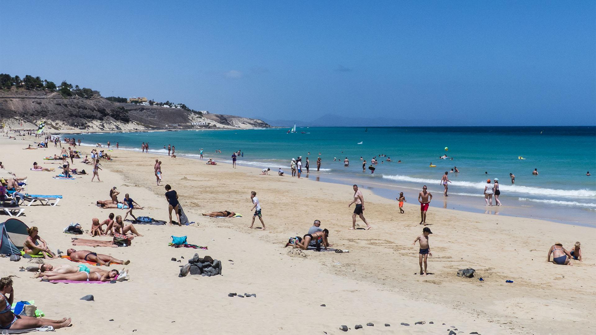 Die Strände Fuerteventuras: Halbinsel Jandía, Playa de Butihondo.