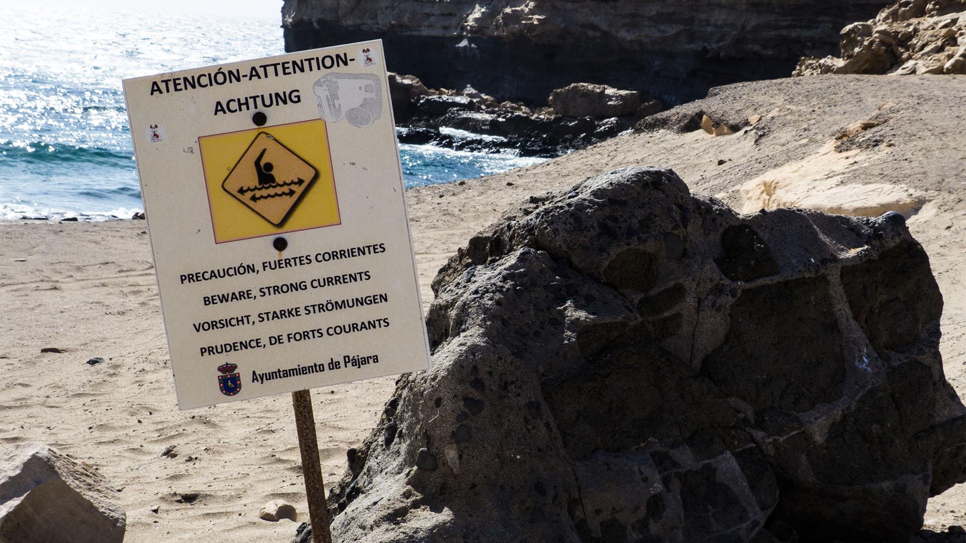 Die Strände Fuerteventuras: Playa de la Pared.
