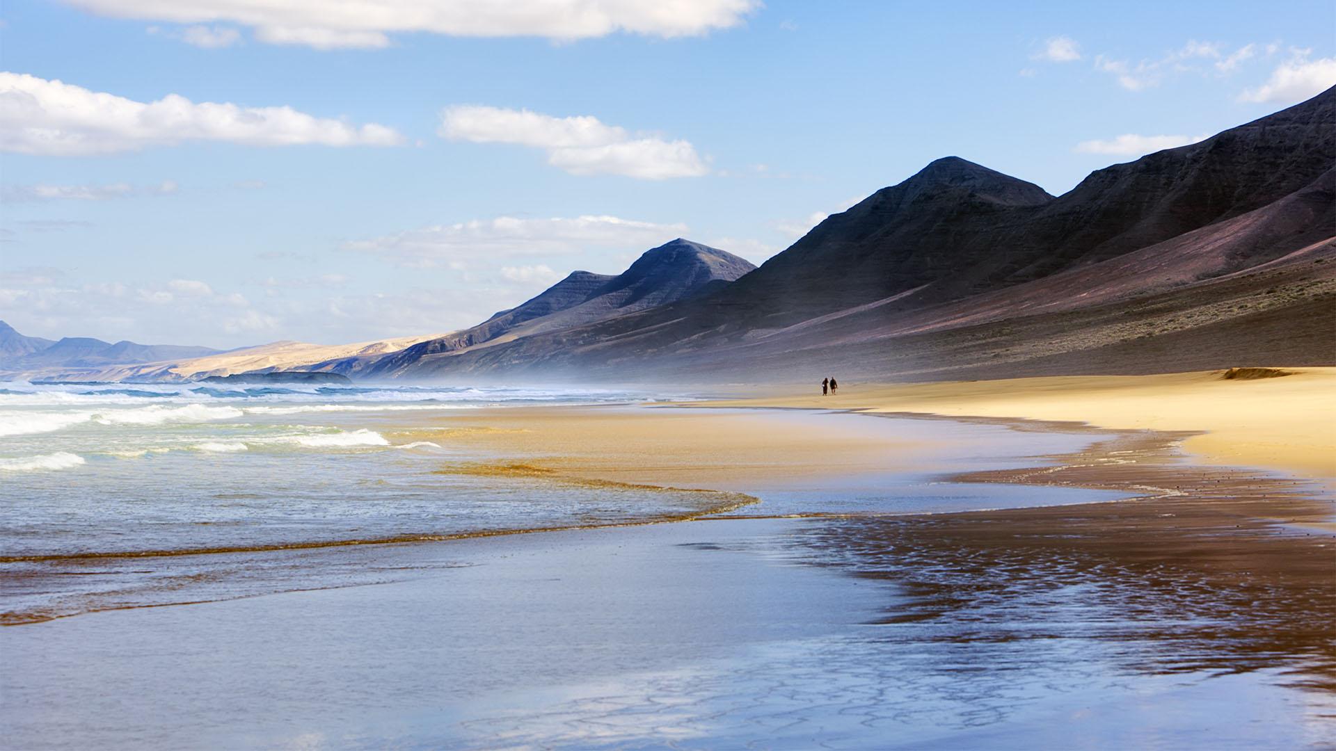 Die Strände Fuerteventuras: Playa de Barlovento de Jandia.