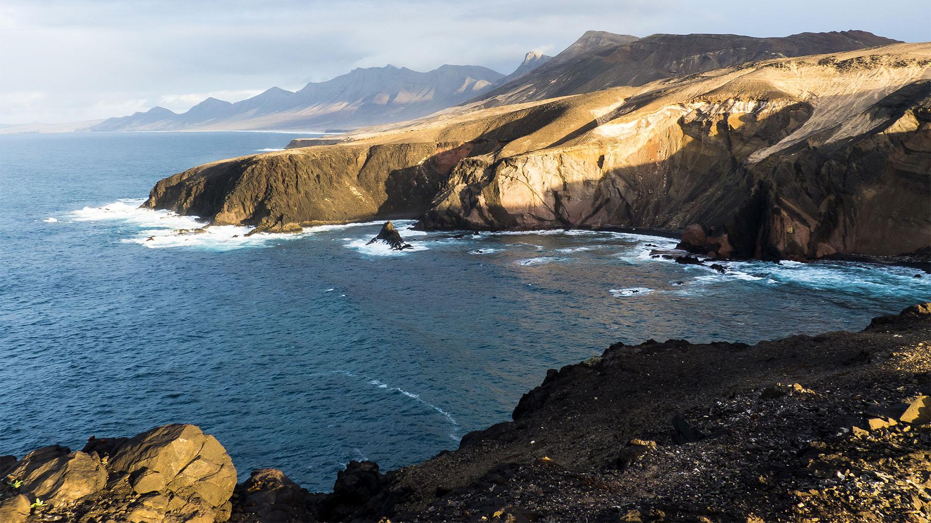 Die Strände Fuerteventuras: Las Talahijas – Caleta de la Madera.