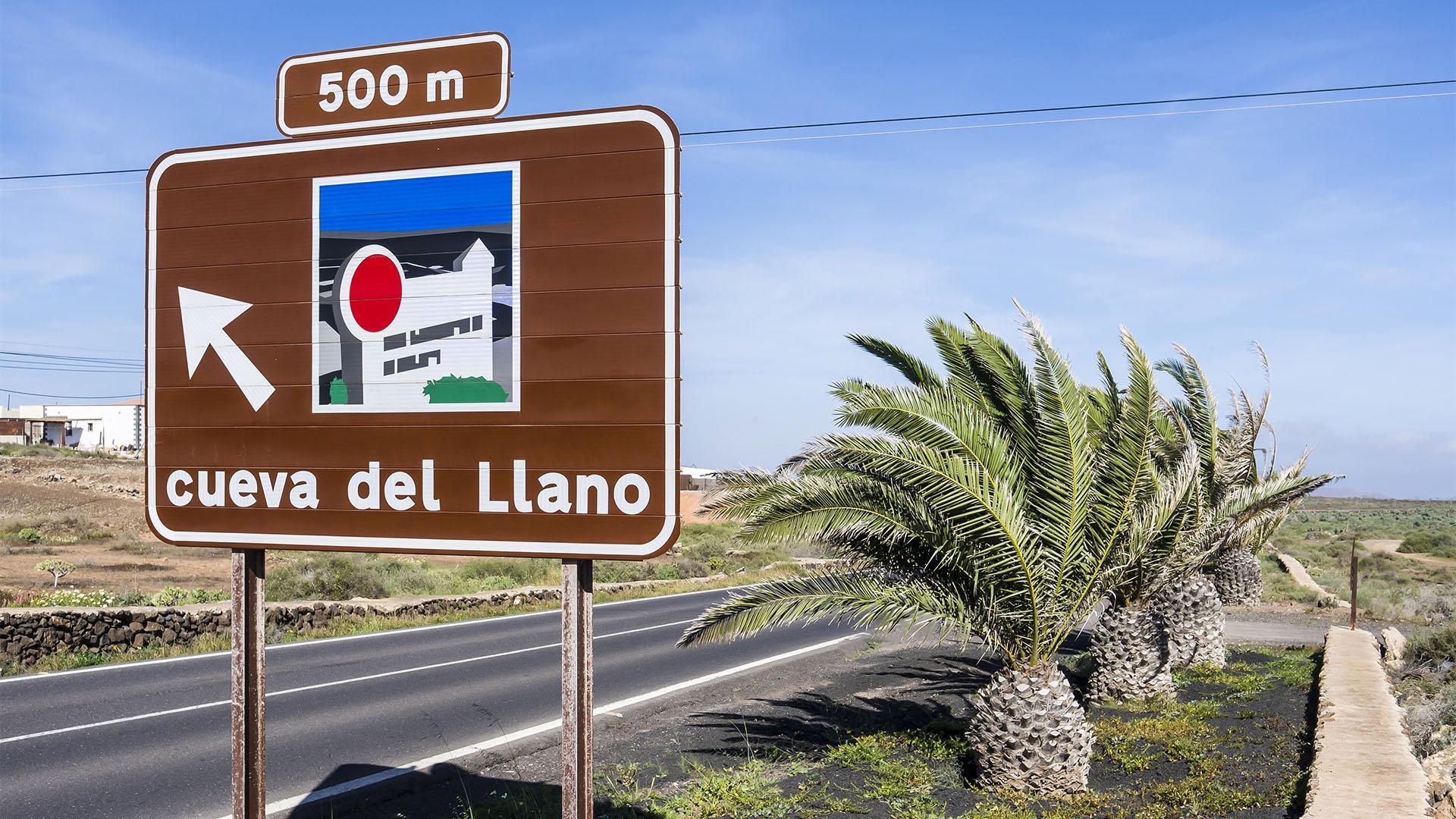 Sehenswürdigkeiten Fuerteventuras: Villaverde – Cueva del Llano
