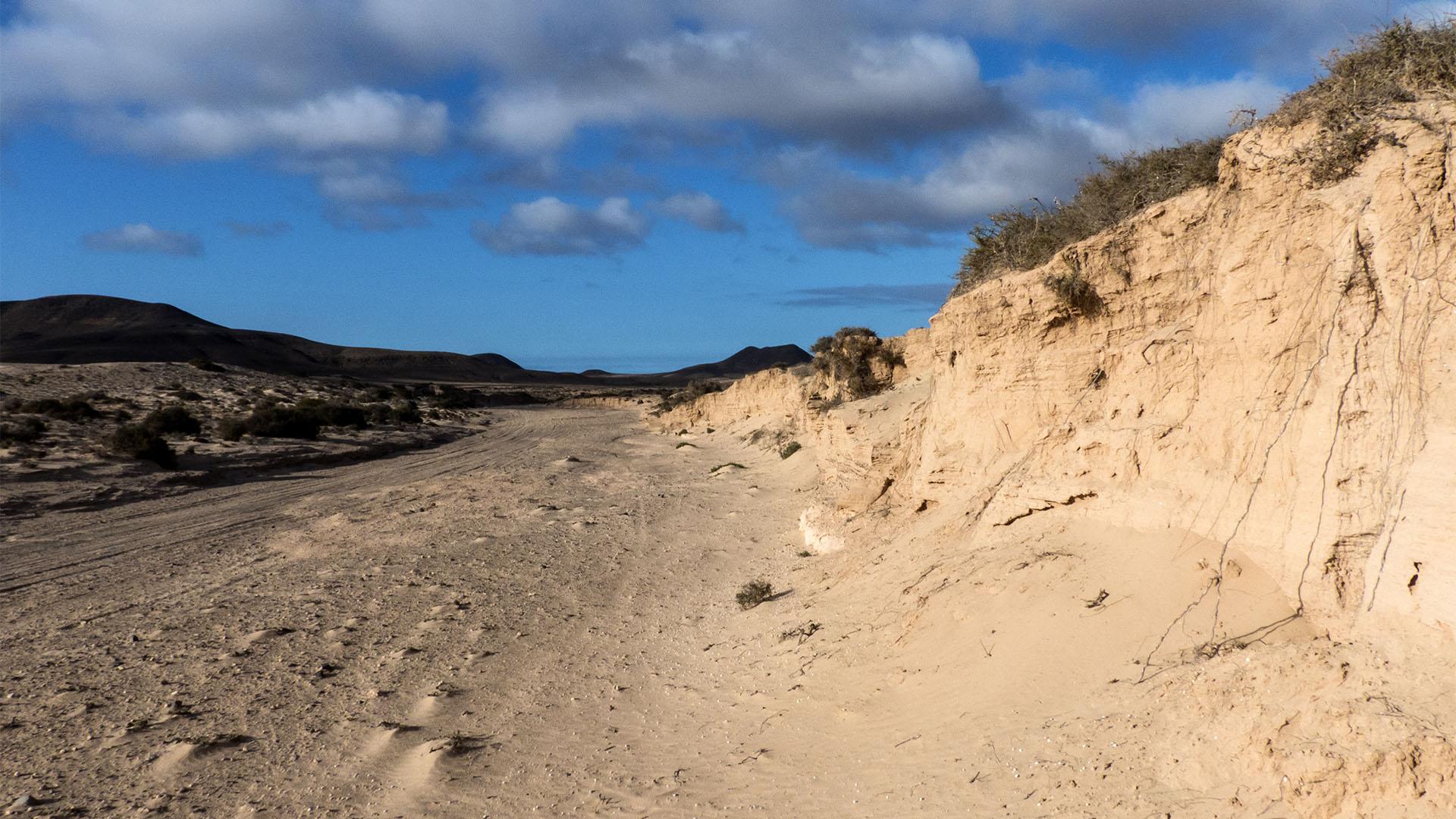 Sehenswürdigkeiten Fuerteventuras: Lajares – Canada de Melián