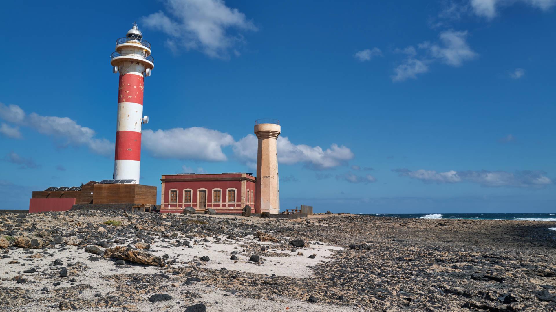 Leuchtturm Faro de Tostón El Cotillo Fuerteventura.