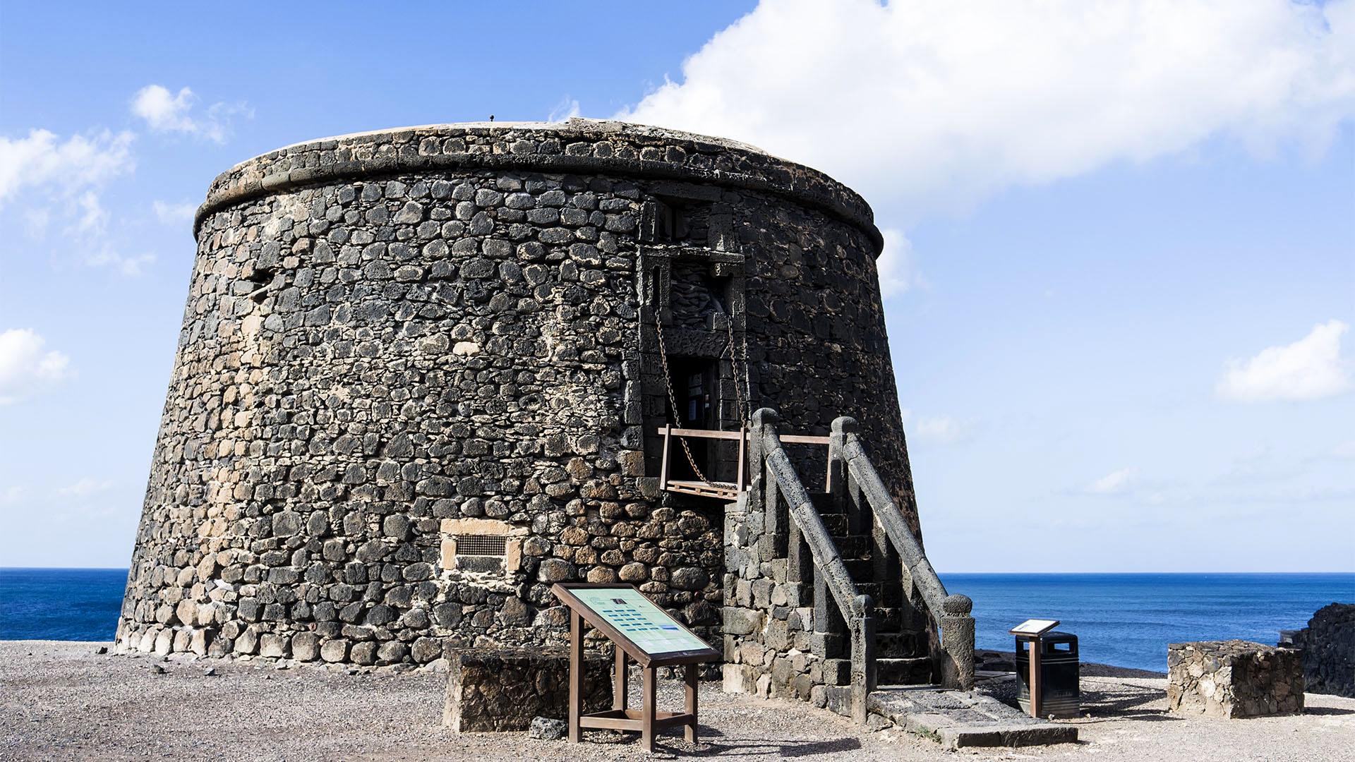 Castillo Torre de El Tostón El Cotillo Fuerteventura.
