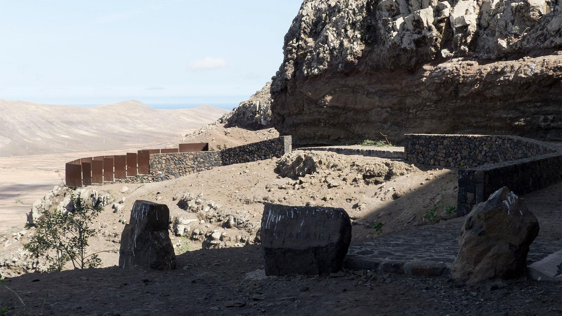 Sehenswürdigkeiten Fuerteventuras: Vallebron – Fuente de Tababaire y Morro Tabaiba.