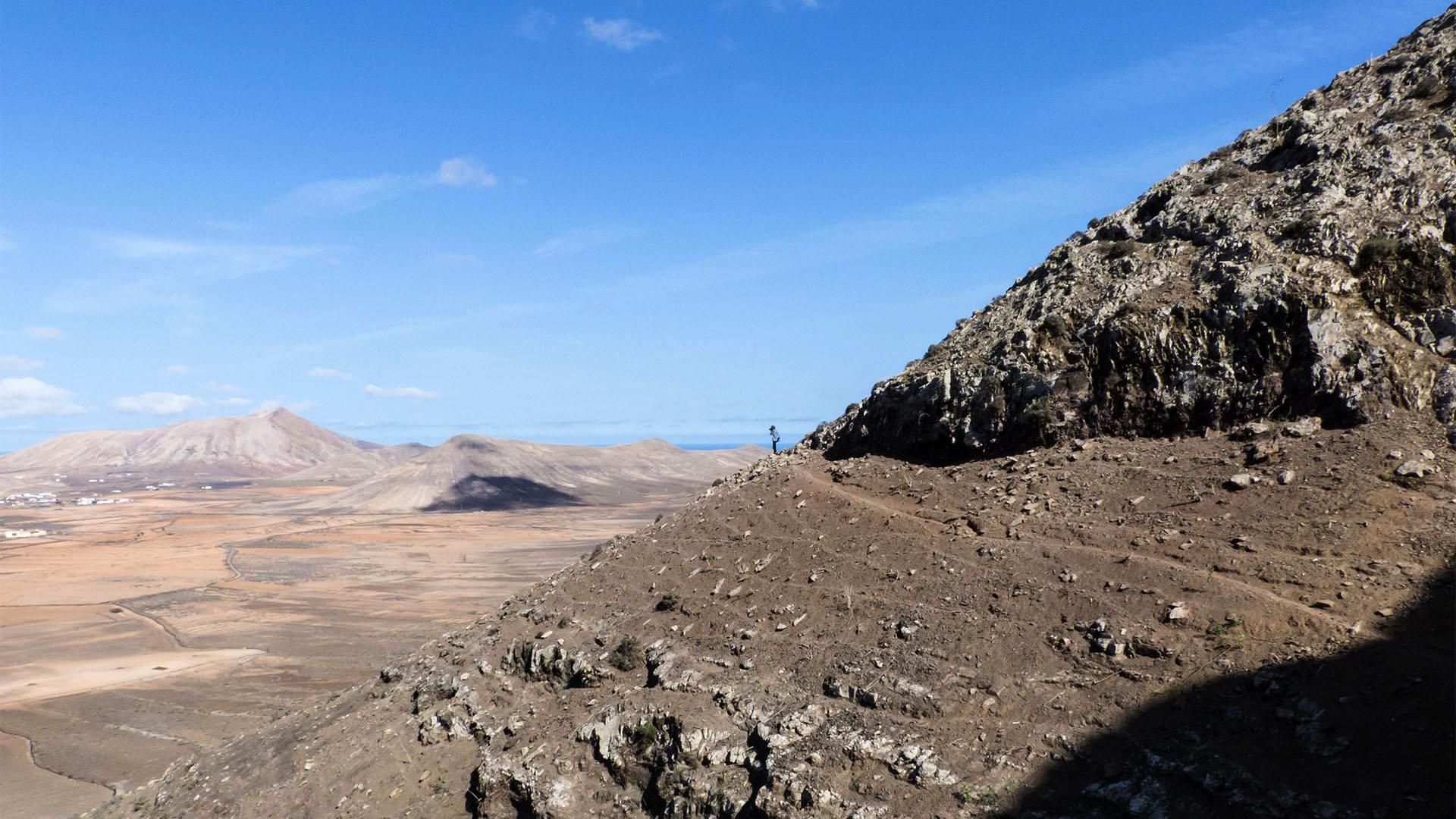 Sehenswürdigkeiten Fuerteventuras: Vallebrón – Fuente de Tababaire y Morro Tabaiba.