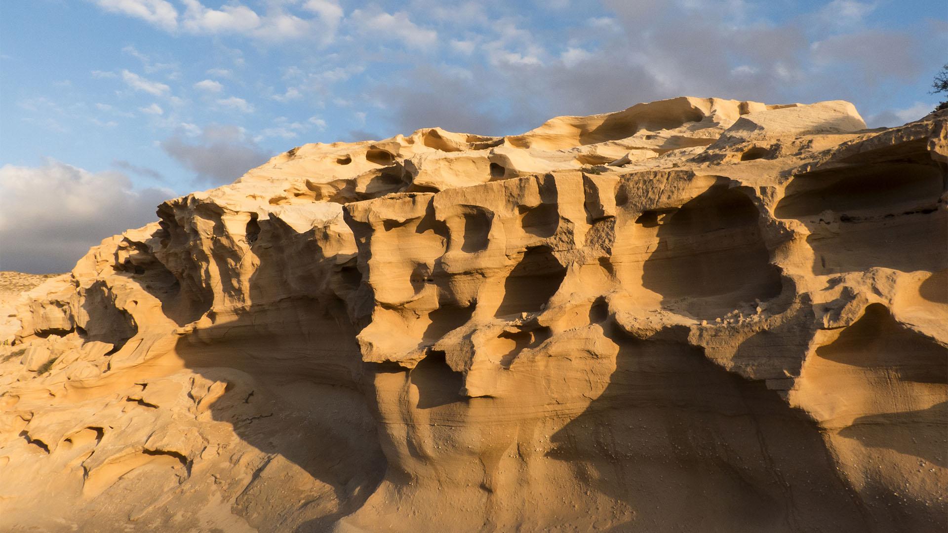 Sehenswürdigkeiten Fuerteventuras: Tindaya – Barranco de los Encantados.