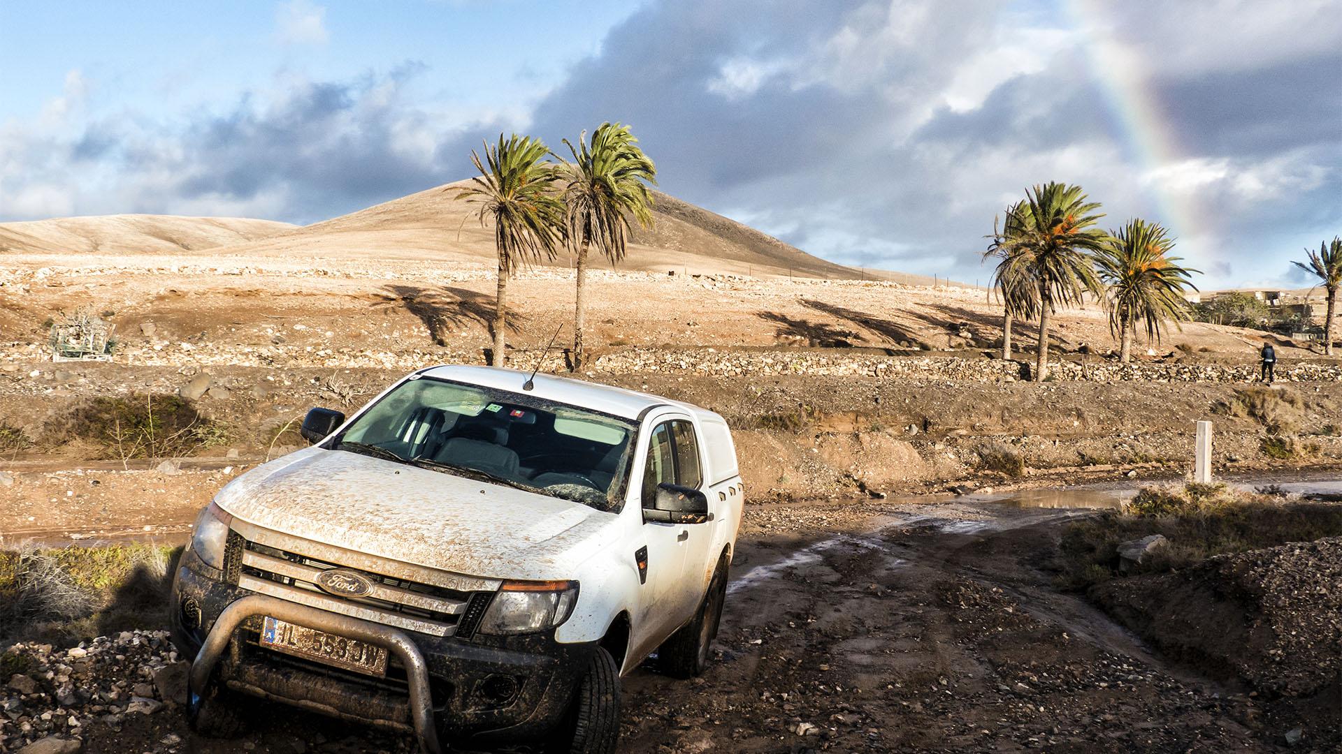 Sehenswürdigkeiten Fuerteventuras: Tindaya – Barranco Esquinzo