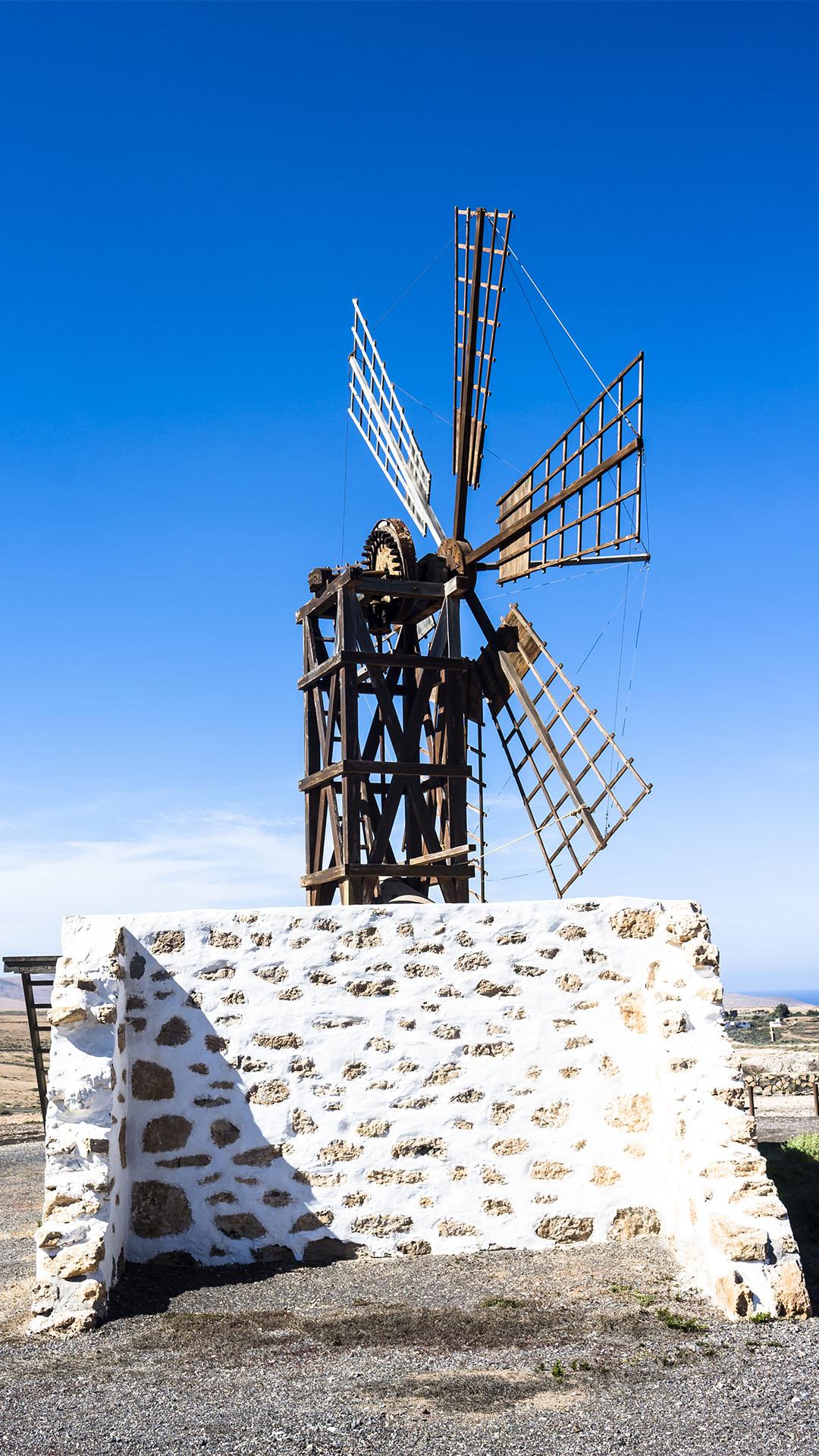 Sehenswürdigkeiten Fuerteventuras: Tefía – Windmühlen