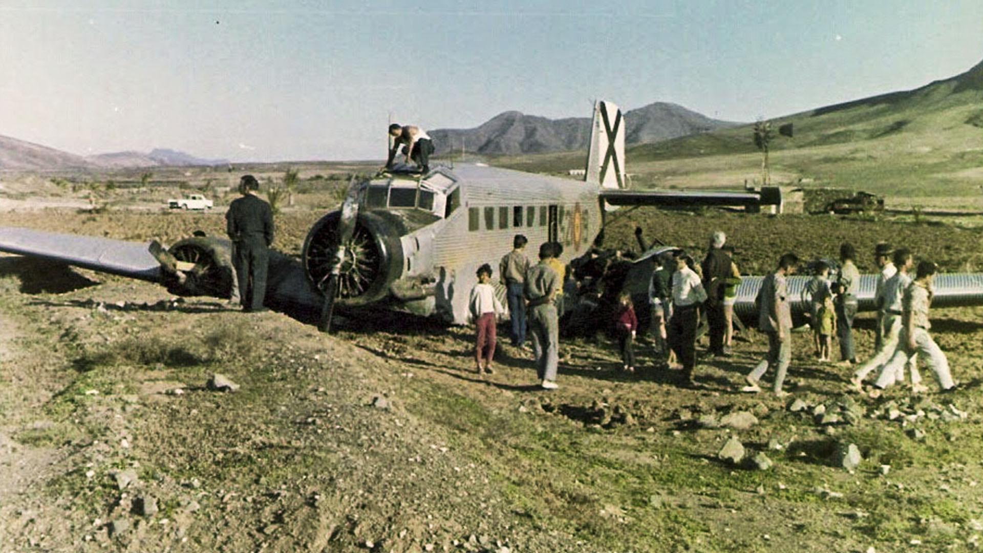 Sehenswürdigkeiten Fuerteventuras: Tefía – Flugfeld der Sahara Legion